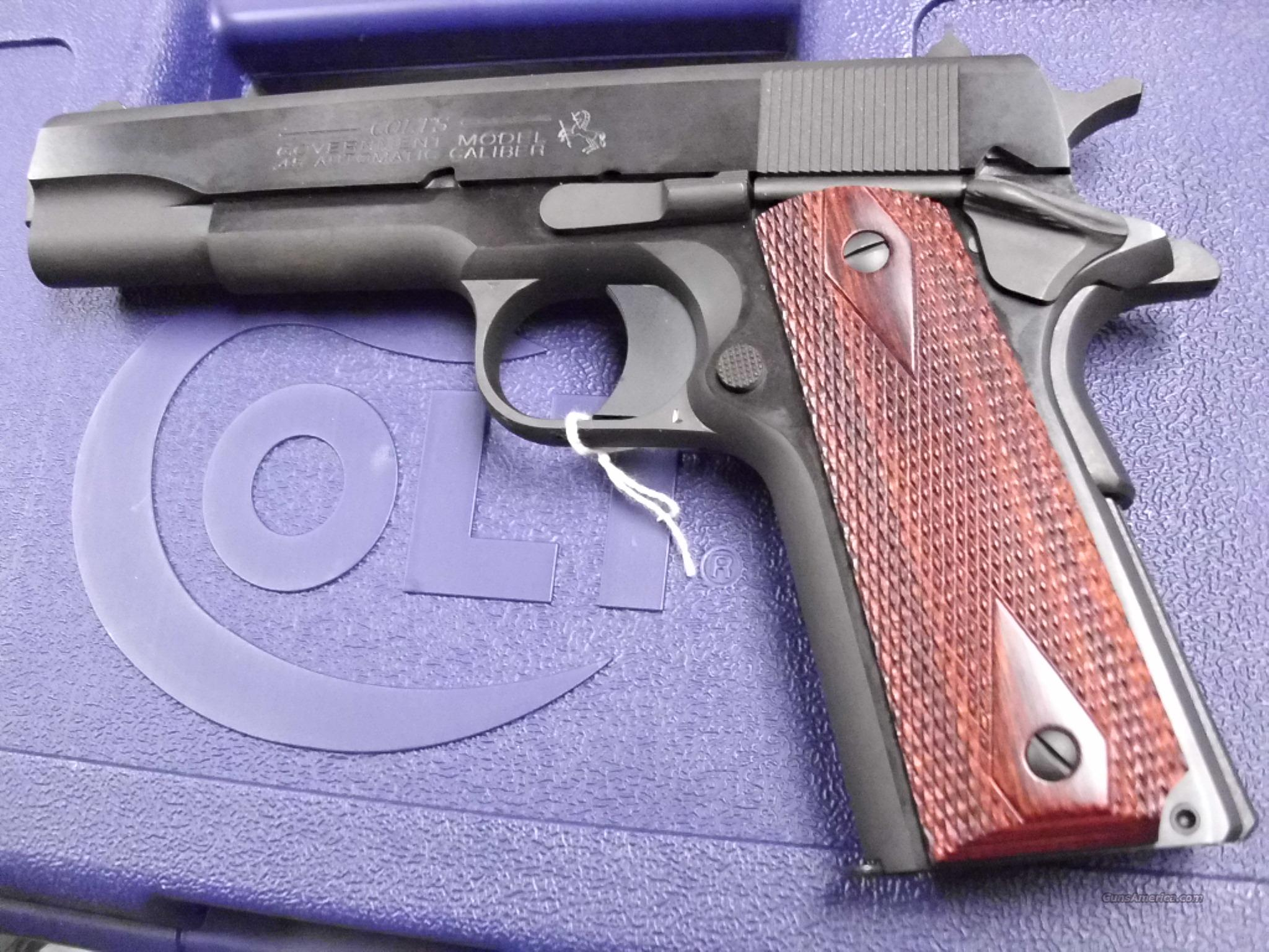 Colt M1911A1 Model 01991 Govt Blued 45ACP NEW  Guns > Pistols > Colt Automatic Pistols (1911 & Var)