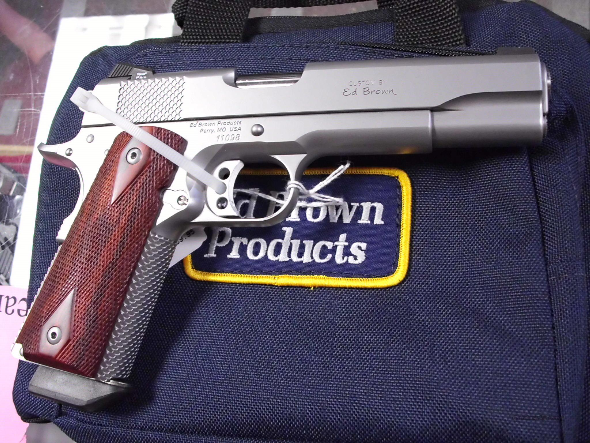 Ed Brown Kobra 45ACP Night Sights NEW   Guns > Pistols > Ed Brown Pistols