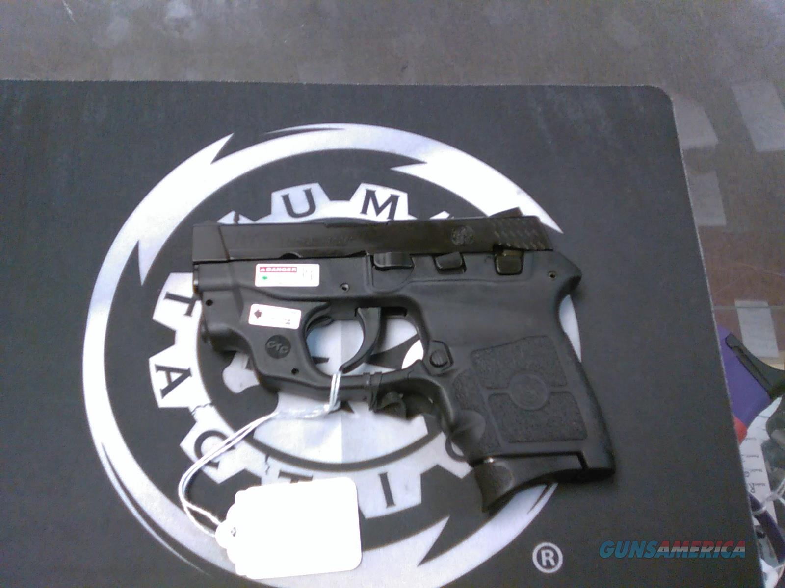 S&W M&P Bodyguard w/ Green CTC Laserguard NO CC FEES  Guns > Pistols > Smith & Wesson Pistols - Autos > Polymer Frame