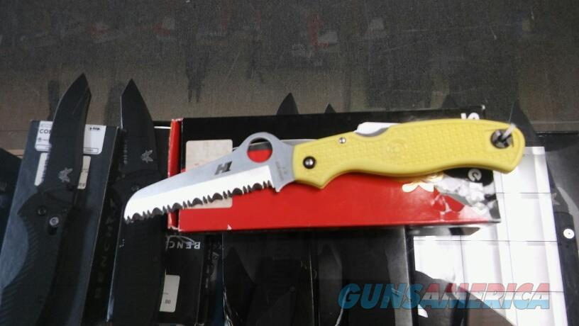Spyderco Atlantic Salt Yellow C89YL NIB NO CC FEES   Non-Guns > Knives/Swords > Knives > Folding Blade > Hand Made