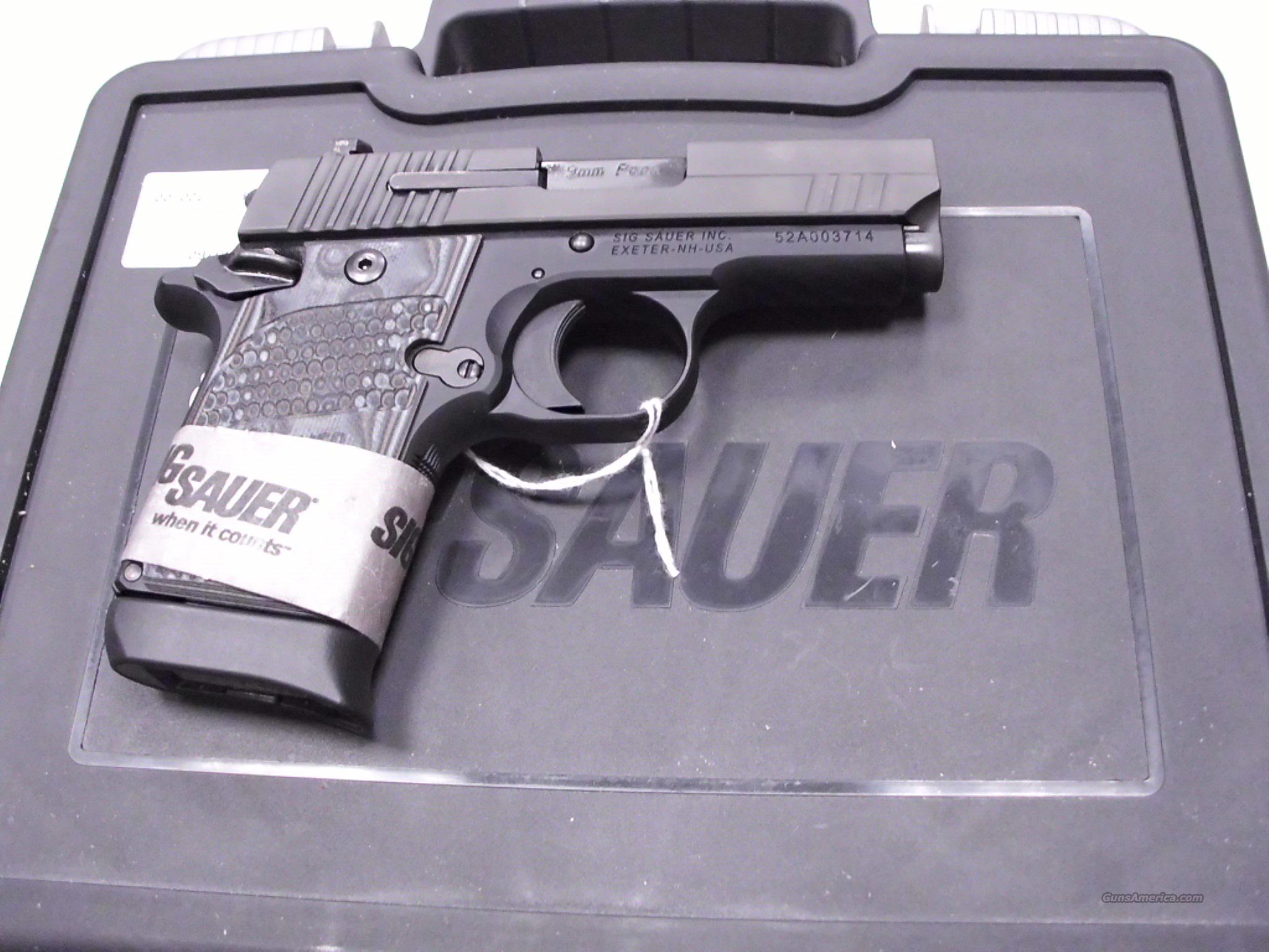 Sig Sauer P938 Extreme 9mm Night Sights NEW  Guns > Pistols > Sig - Sauer/Sigarms Pistols > Other