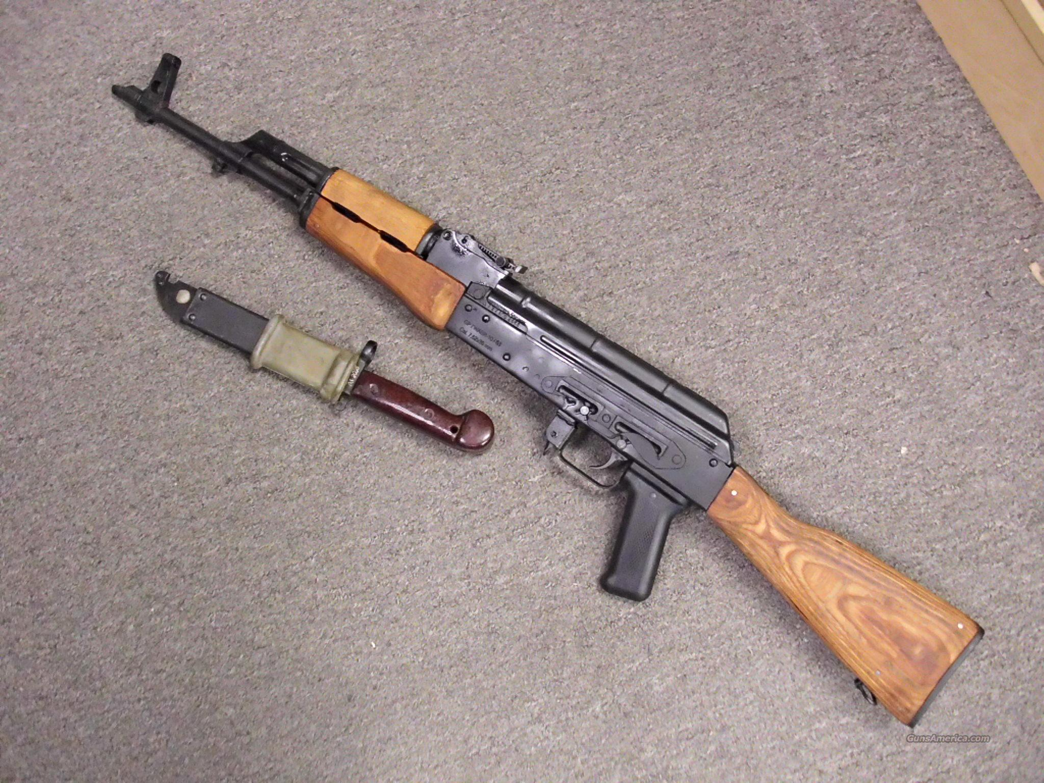 Century Arms WASR10/63 7.62 with Bayonet. NEW  Guns > Rifles > Century International Arms - Rifles > Rifles