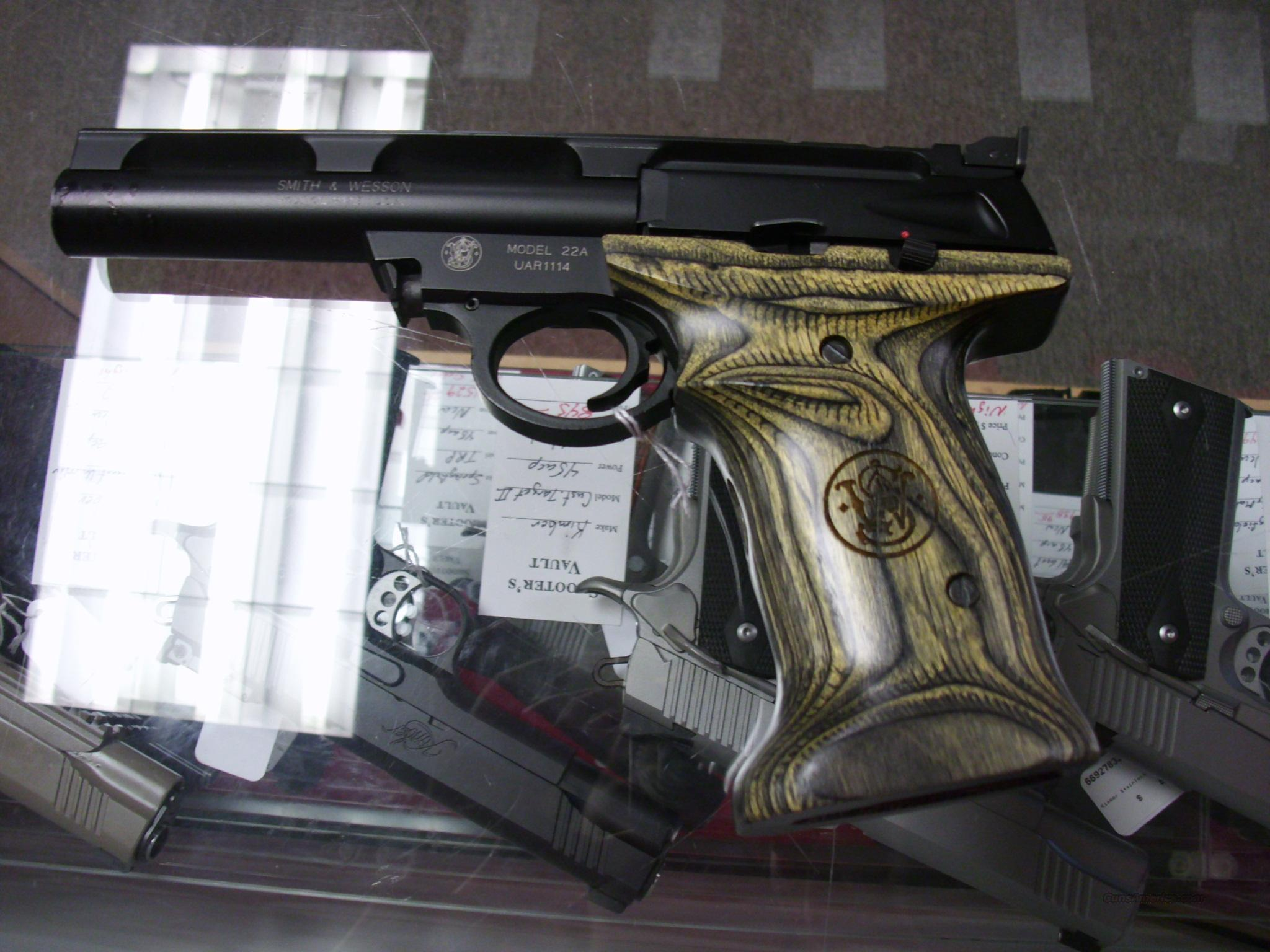 Smith & Wesson 22A 22LR Used  Guns > Pistols > Smith & Wesson Pistols - Autos > .22 Autos