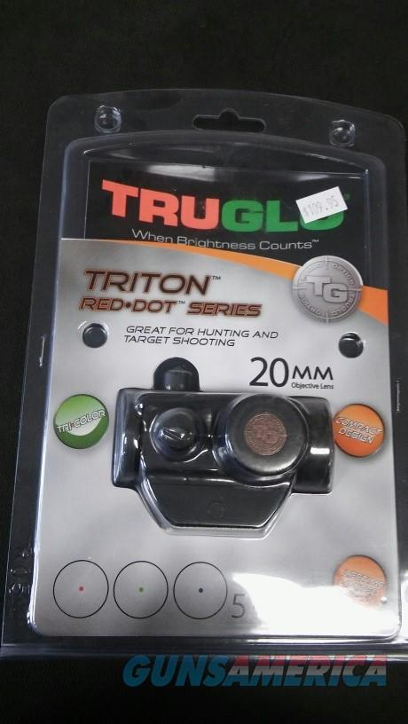 TRUGLO TRITON 20MM TRI•COLOR NIB NO CC FEES  Non-Guns > Scopes/Mounts/Rings & Optics > Tactical Scopes > Red Dot