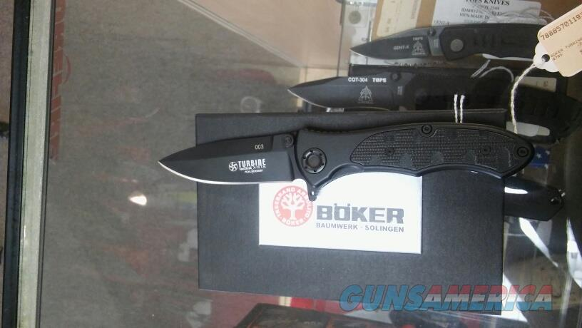 Boker Turbine JR TACT NIB NO CC FEES  Non-Guns > Knives/Swords > Knives > Folding Blade > Imported