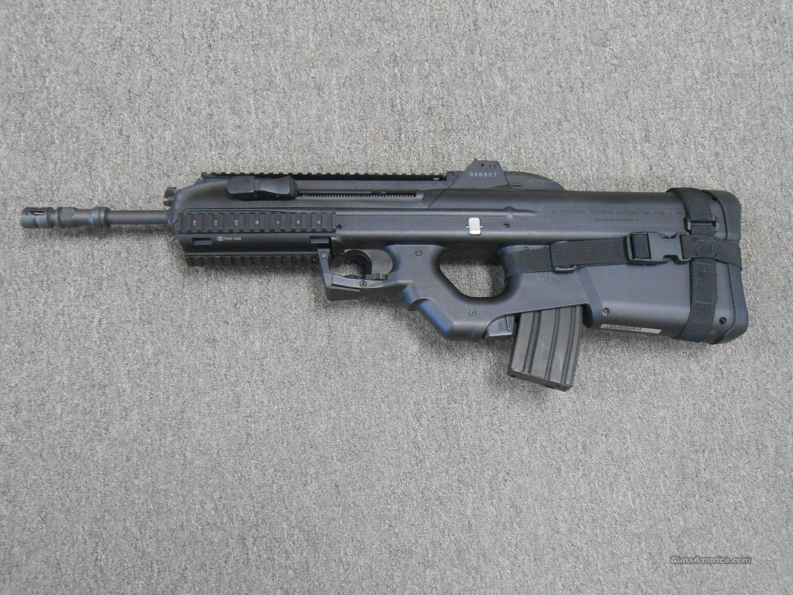 FNH FS2000 Used 5.56 Blk SP Sling & Bag  Guns > Rifles > FNH - Fabrique Nationale (FN) Rifles > Semi-auto > Other