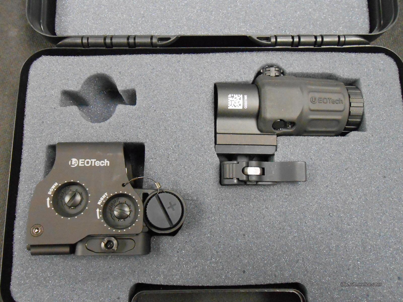 EOTECH HHS II Sight package w/magnifier NIB!  Non-Guns > Scopes/Mounts/Rings & Optics > Tactical Scopes > Red Dot