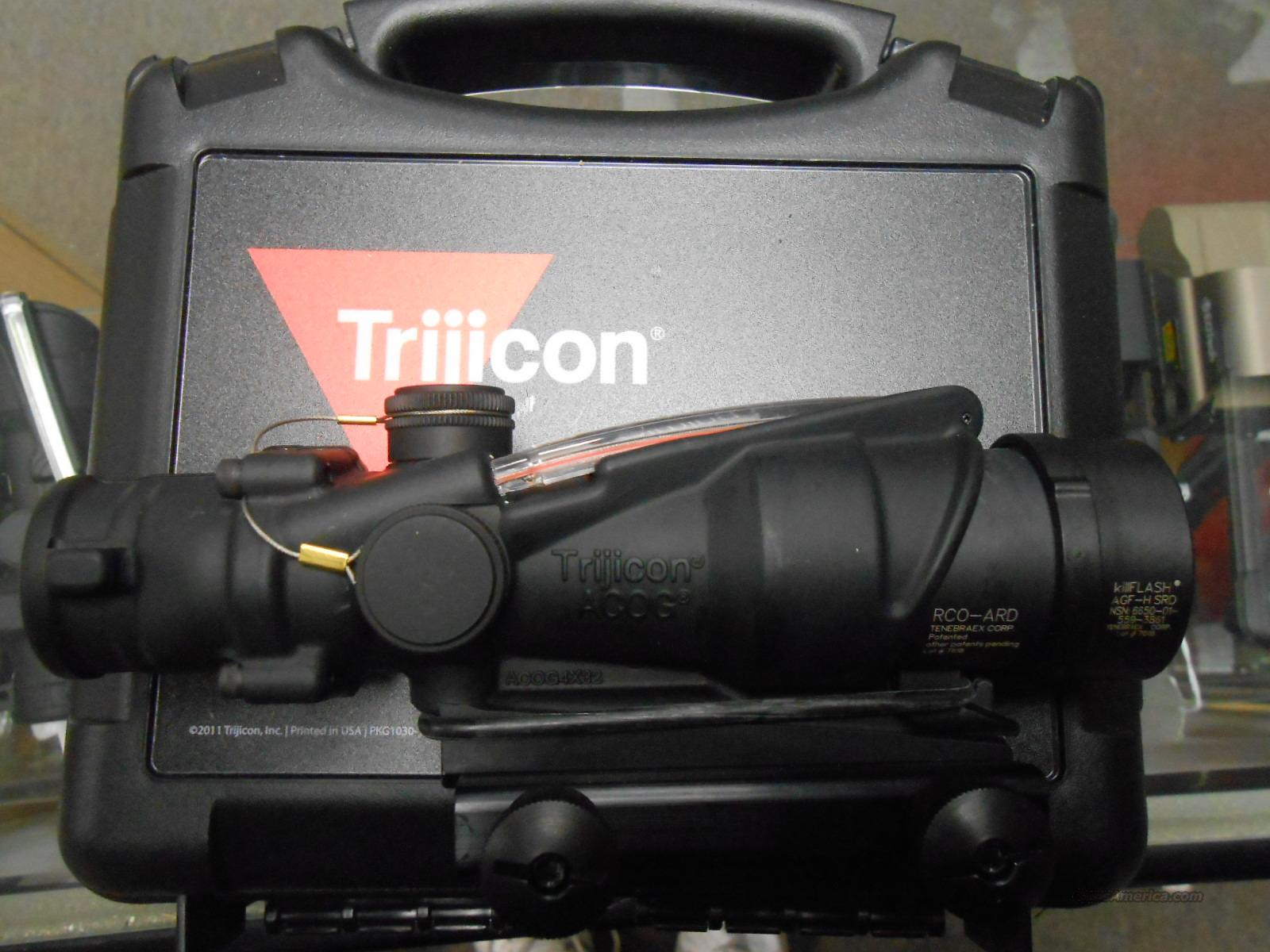 Trijicon ACOG TA31RCO-A4CP 4x32 5.56  Non-Guns > Scopes/Mounts/Rings & Optics > Tactical Scopes > Red Dot