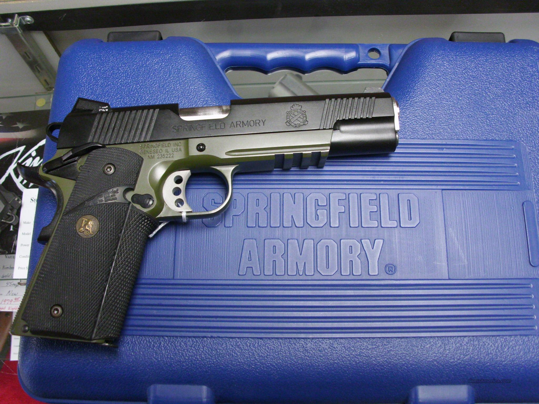 Springfield Operator 45ACP Used with Night Sights   Guns > Pistols > Springfield Armory Pistols > 1911 Type