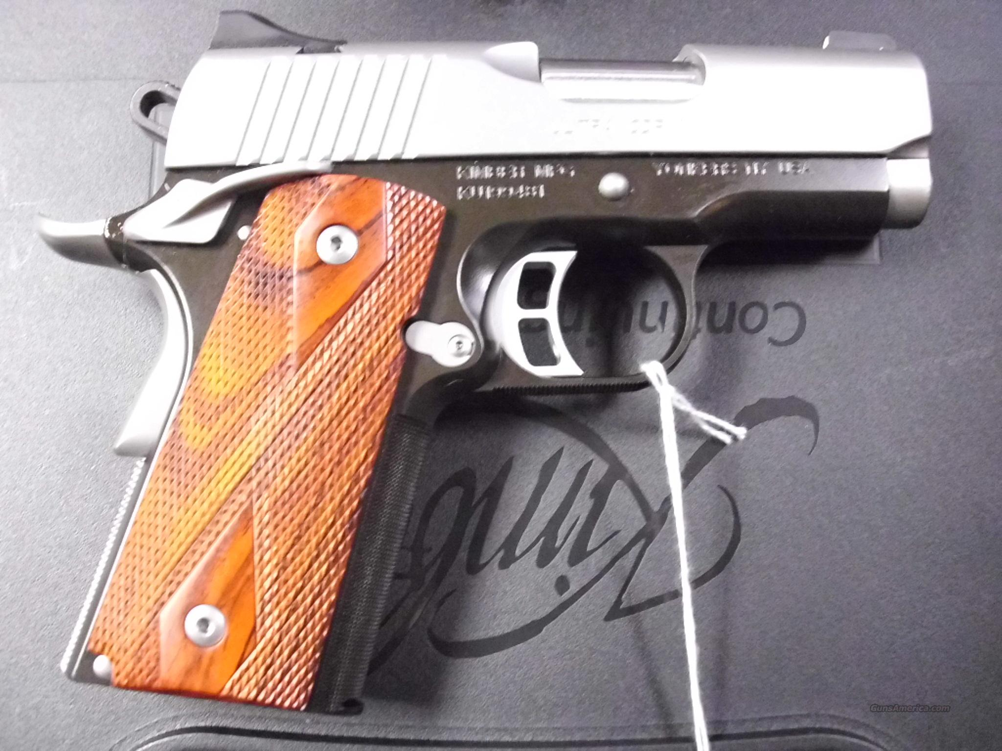 Kimber 1911 Ultra CDP II .45ACP w/Night Sights New  Guns > Pistols > Kimber of America Pistols