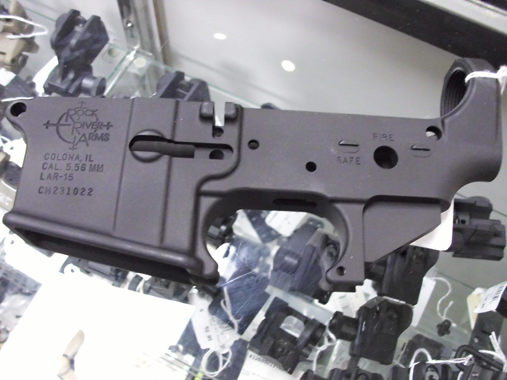 RRA Stripped lower 5.56mm NEW   Guns > Rifles > Rock River Arms Rifles