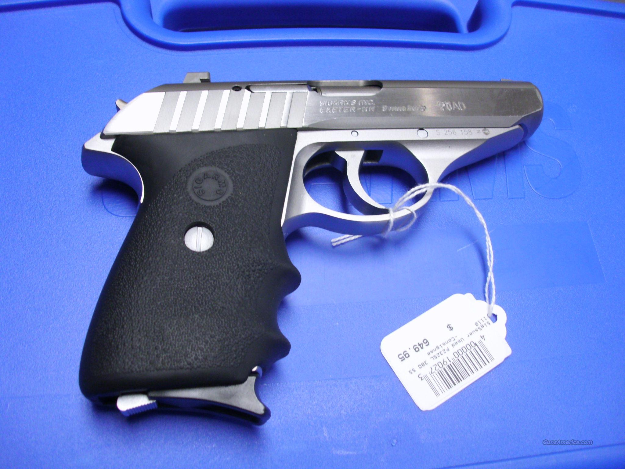 Sig Sauer P232SL 380 USED   Guns > Pistols > Sig - Sauer/Sigarms Pistols > P232