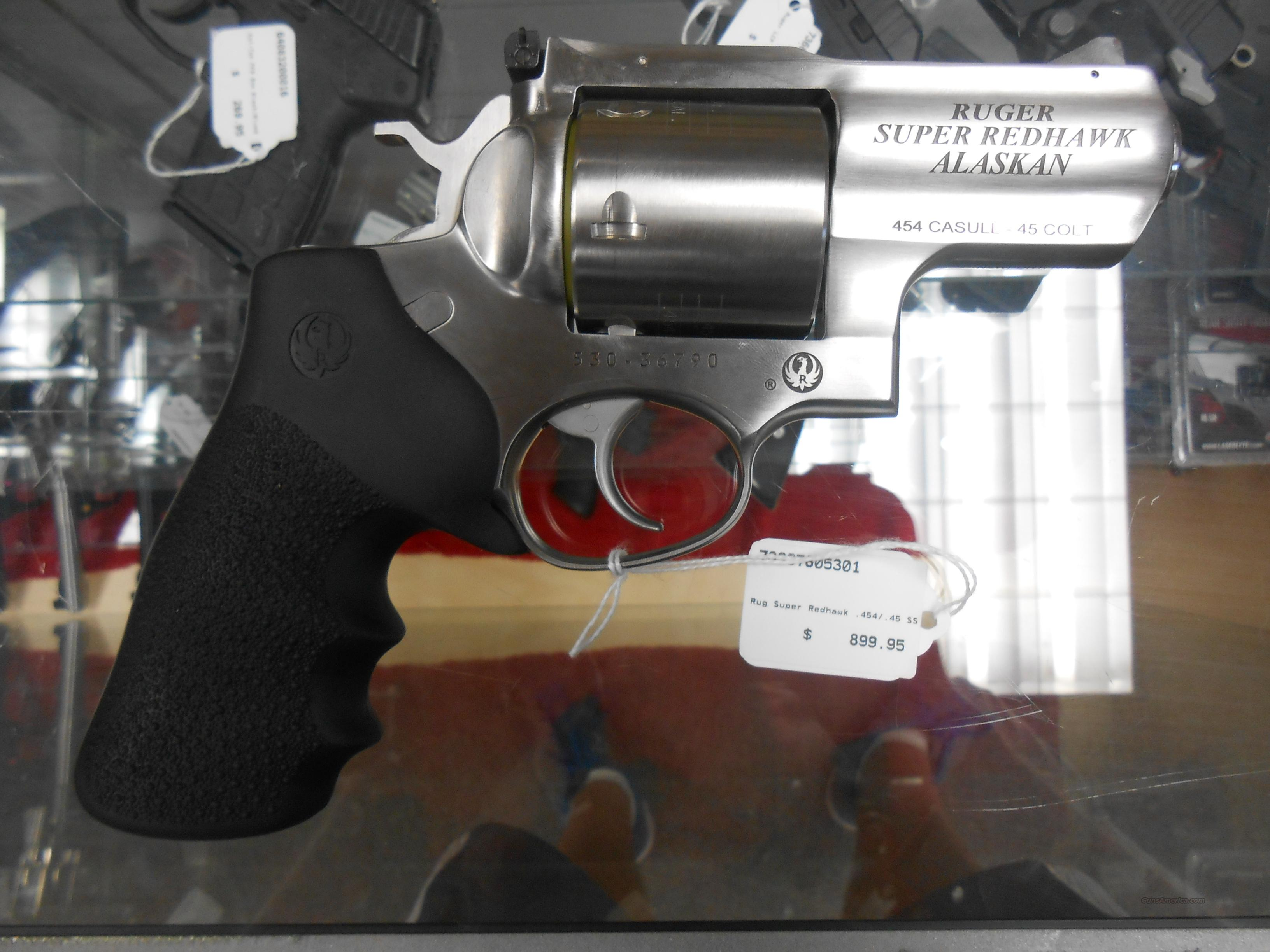 Ruger Super Redhawk .454/.45 SS NO CC Fees  Guns > Pistols > Ruger Double Action Revolver > Redhawk Type