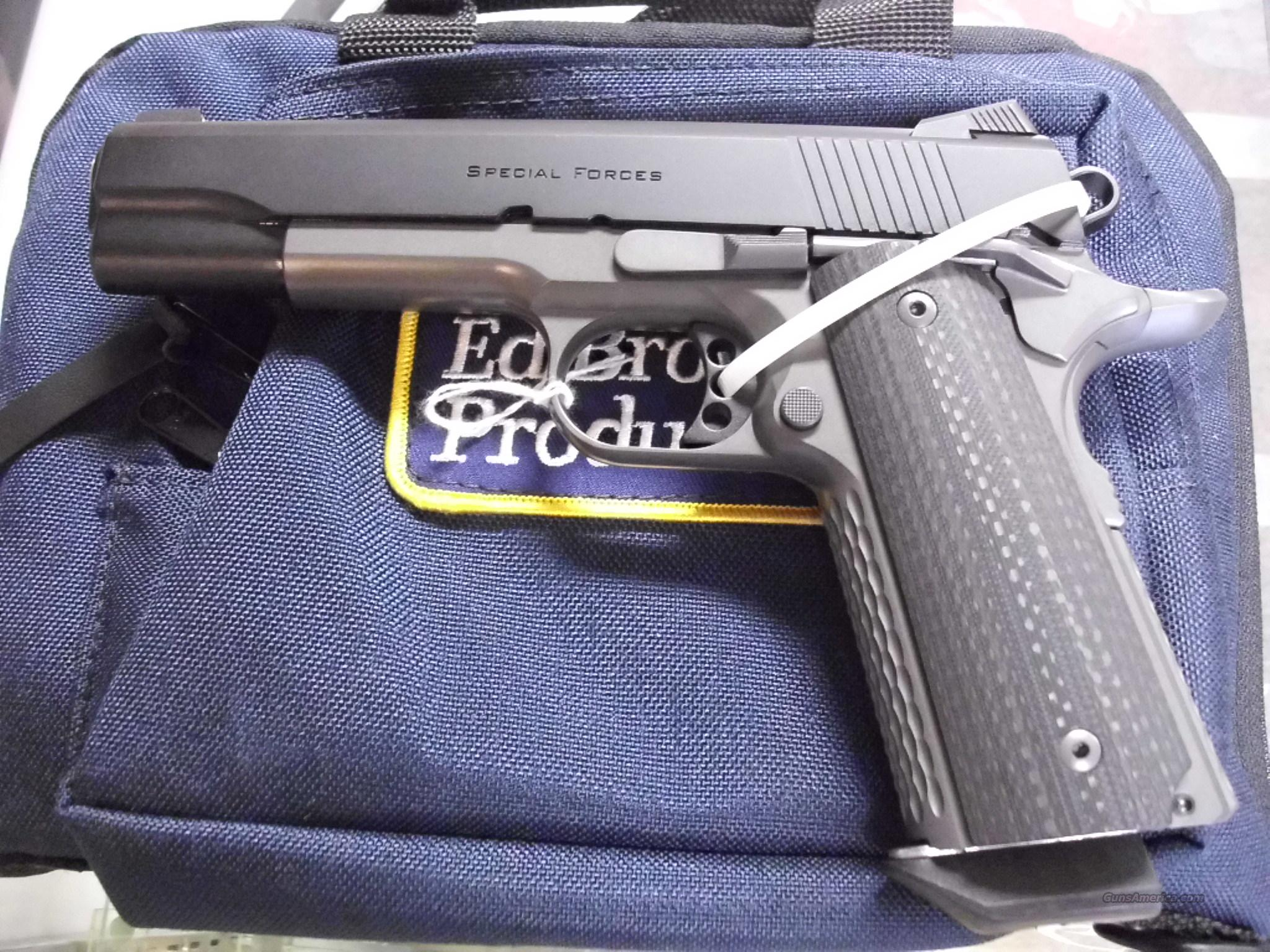 Ed Brown Special Forces Stealth Grey 45ACP Night Sights NEW  Guns > Pistols > Ed Brown Pistols
