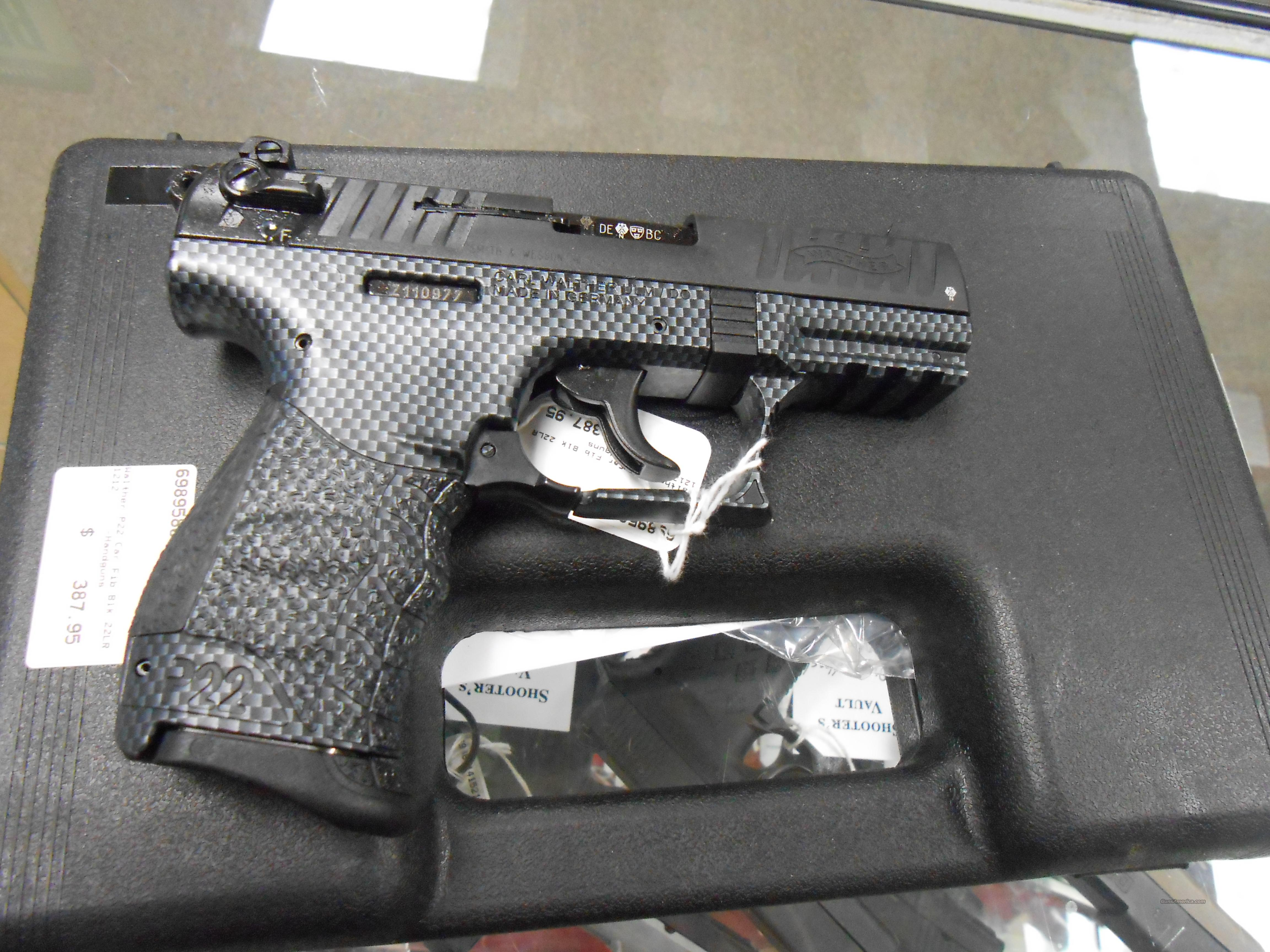 Walther P22 22LR Carbon Fiber NEW  Guns > Pistols > Walther Pistols > Post WWII > P22