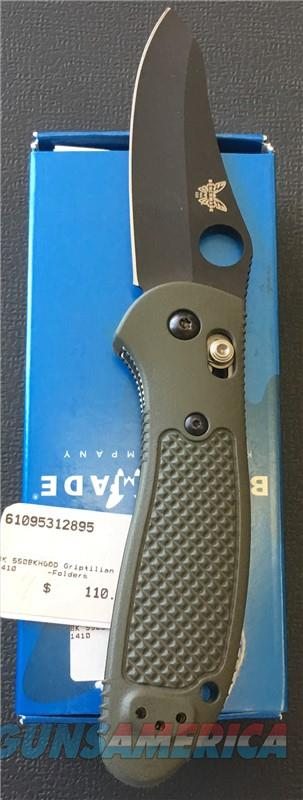 Benchmade 550BKHGOD Griptilian NIB NO CC FEES  Non-Guns > Knives/Swords > Knives > Folding Blade > Hand Made