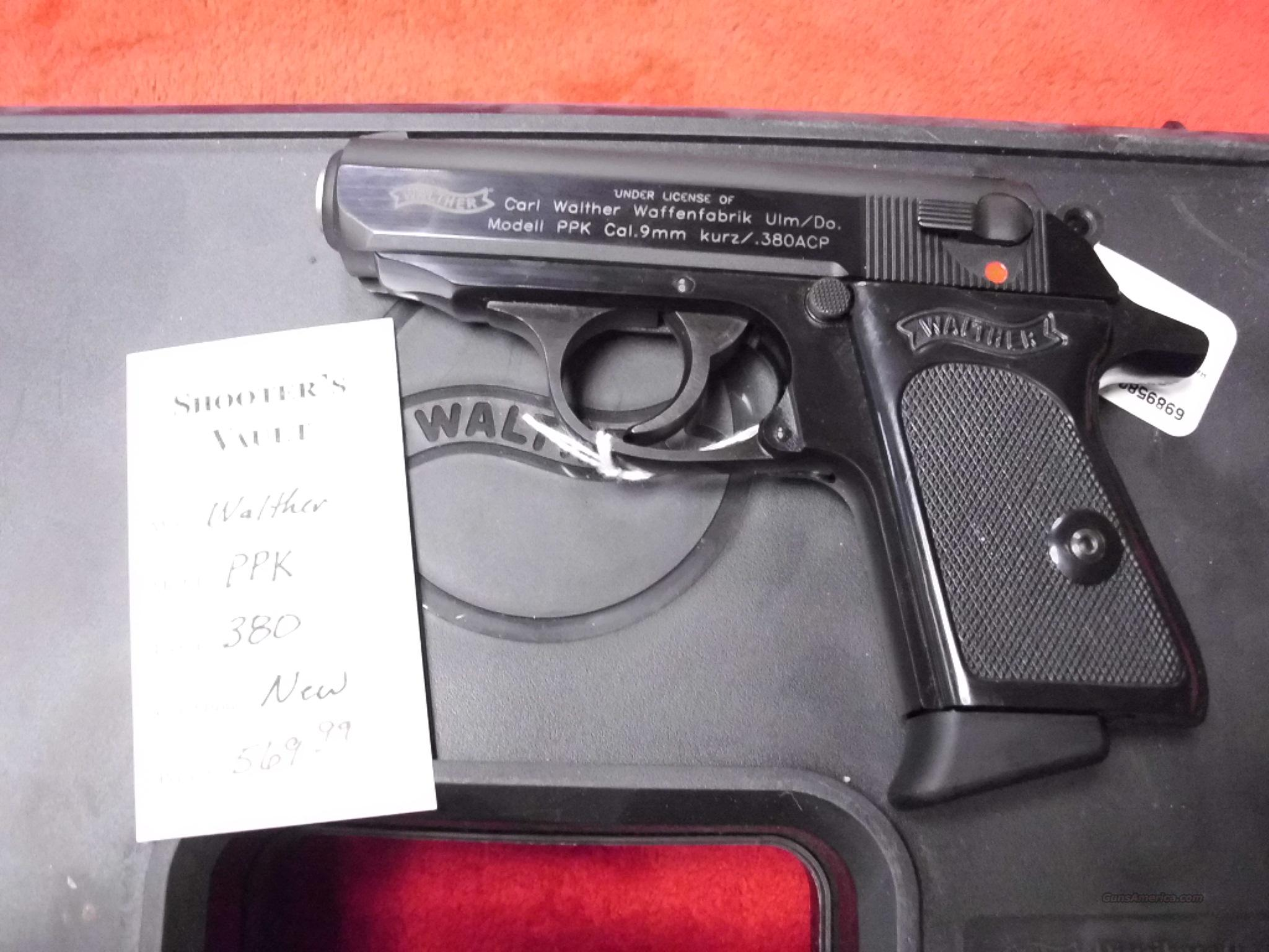 Walther PPK 380 NEW   Guns > Pistols > Walther Pistols > Post WWII > PP Series