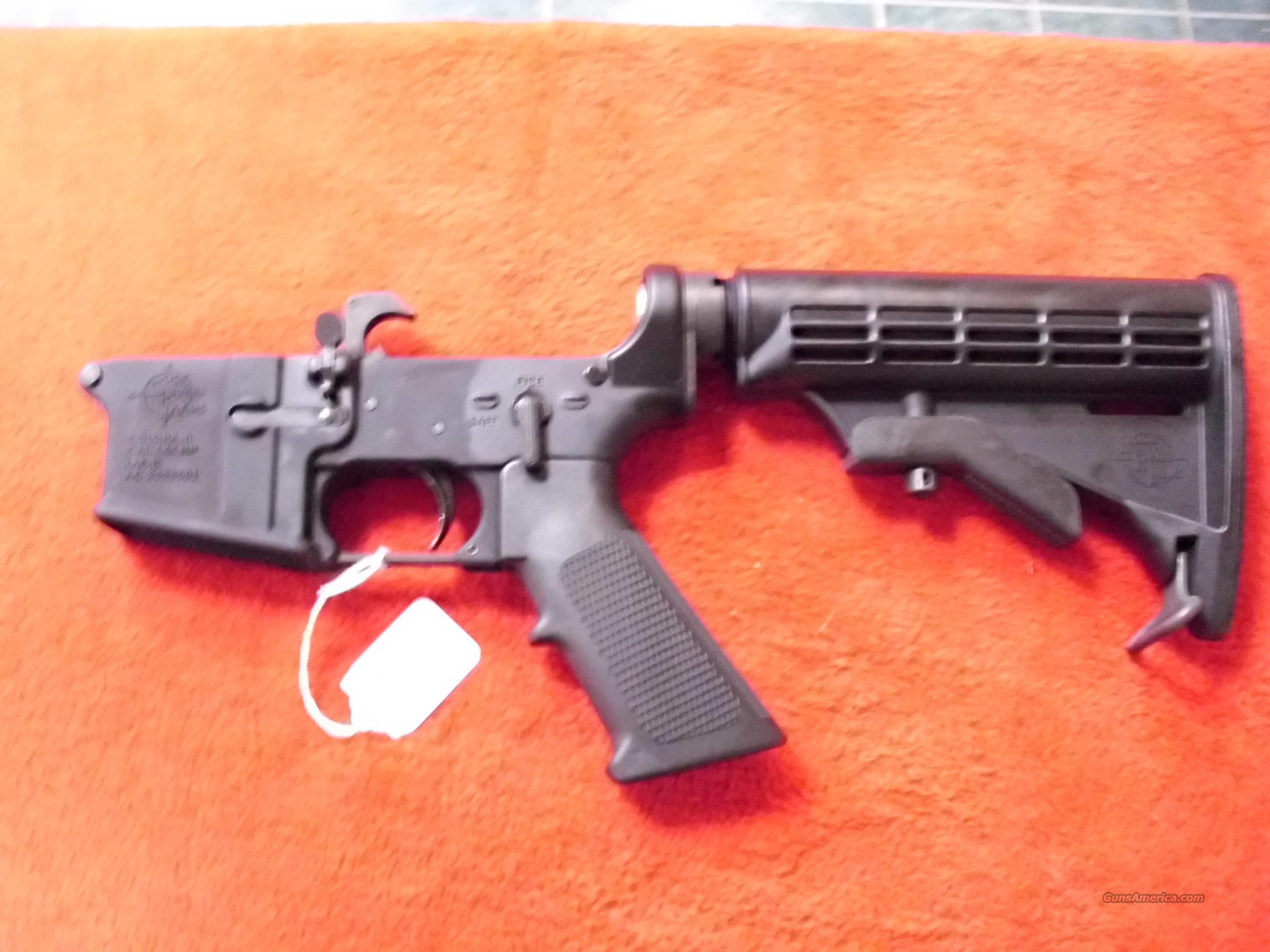 Rock River Arms RRA M4 Complete Lower AR 15 NEW   Guns > Rifles > Rock River Arms Rifles