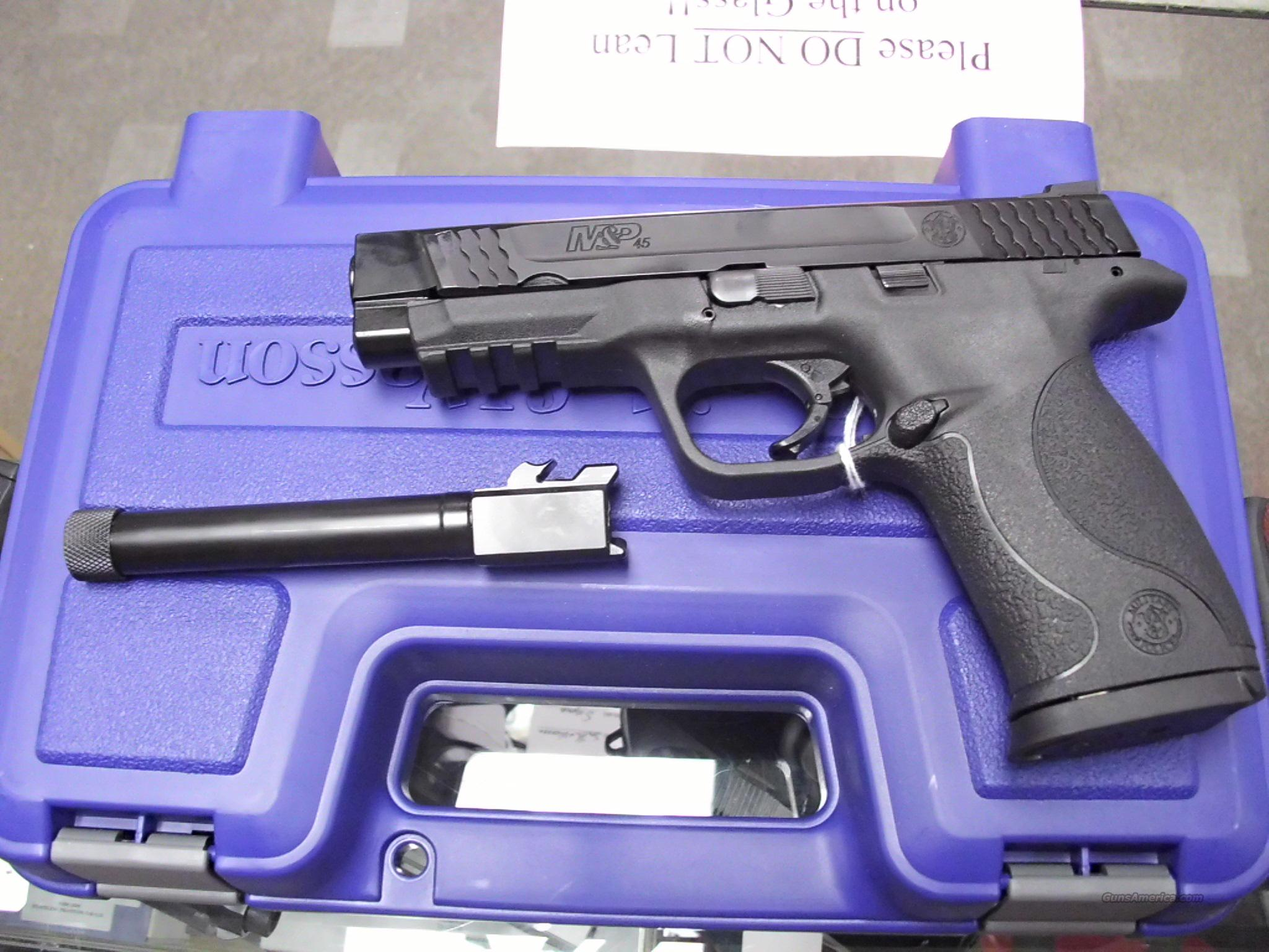 Smith & Wesson M&P 45 Threaded Barrel 45ACP NEW   Guns > Pistols > Smith & Wesson Pistols - Autos > Polymer Frame