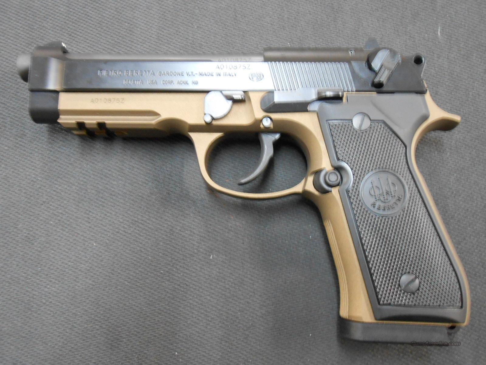 Beretta 92A1 9mm J9A9F10 X-Werks Bronze NIB! for sale