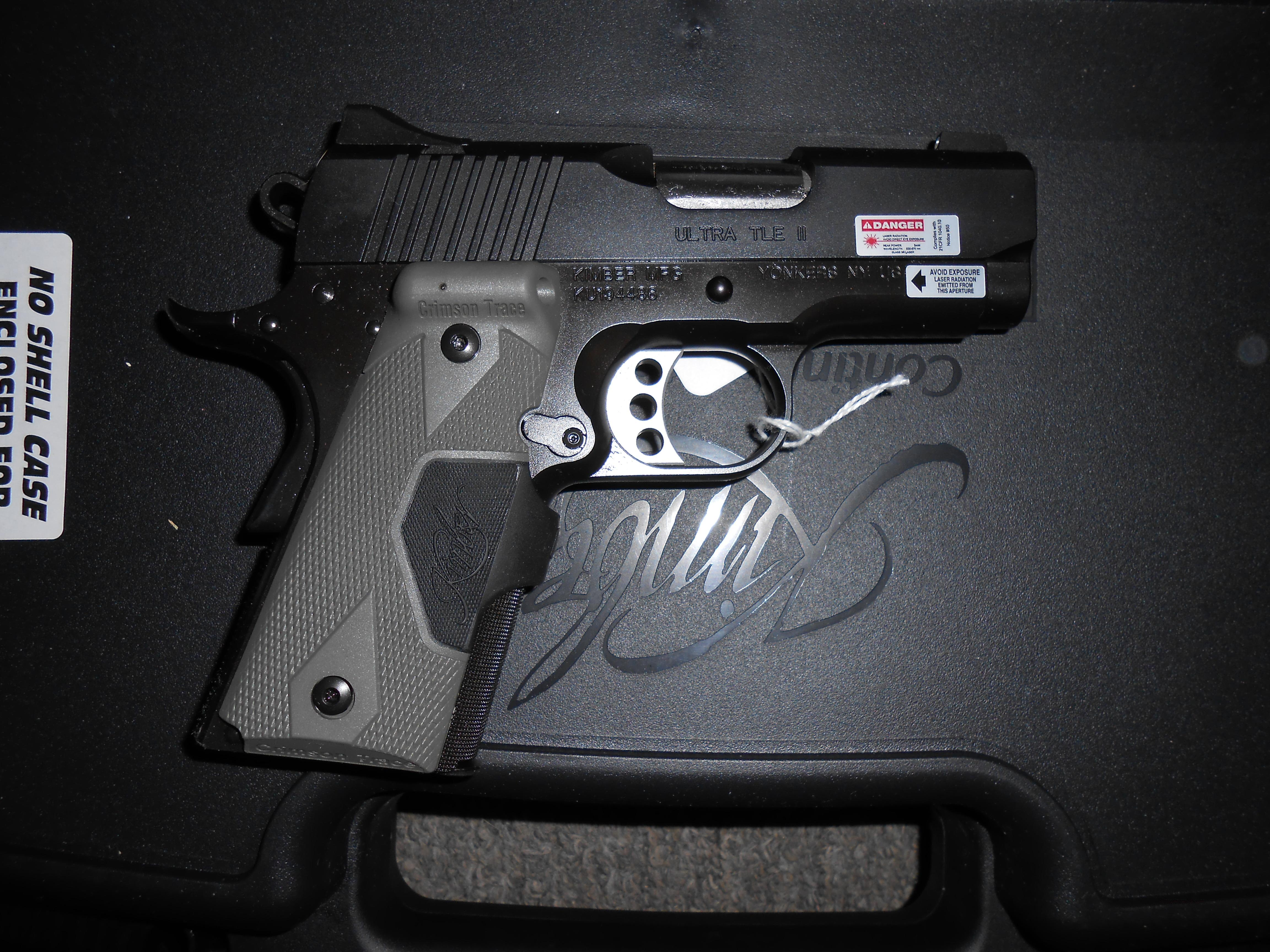 Kimber Ultra Carry II with Crimson Trace laser grip NEW  Guns > Pistols > Kimber of America Pistols