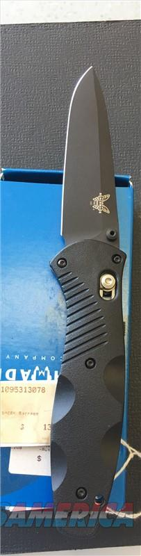 Benchmade 580BK Barrage NIB NO CC FEES  Non-Guns > Knives/Swords > Knives > Folding Blade > Hand Made