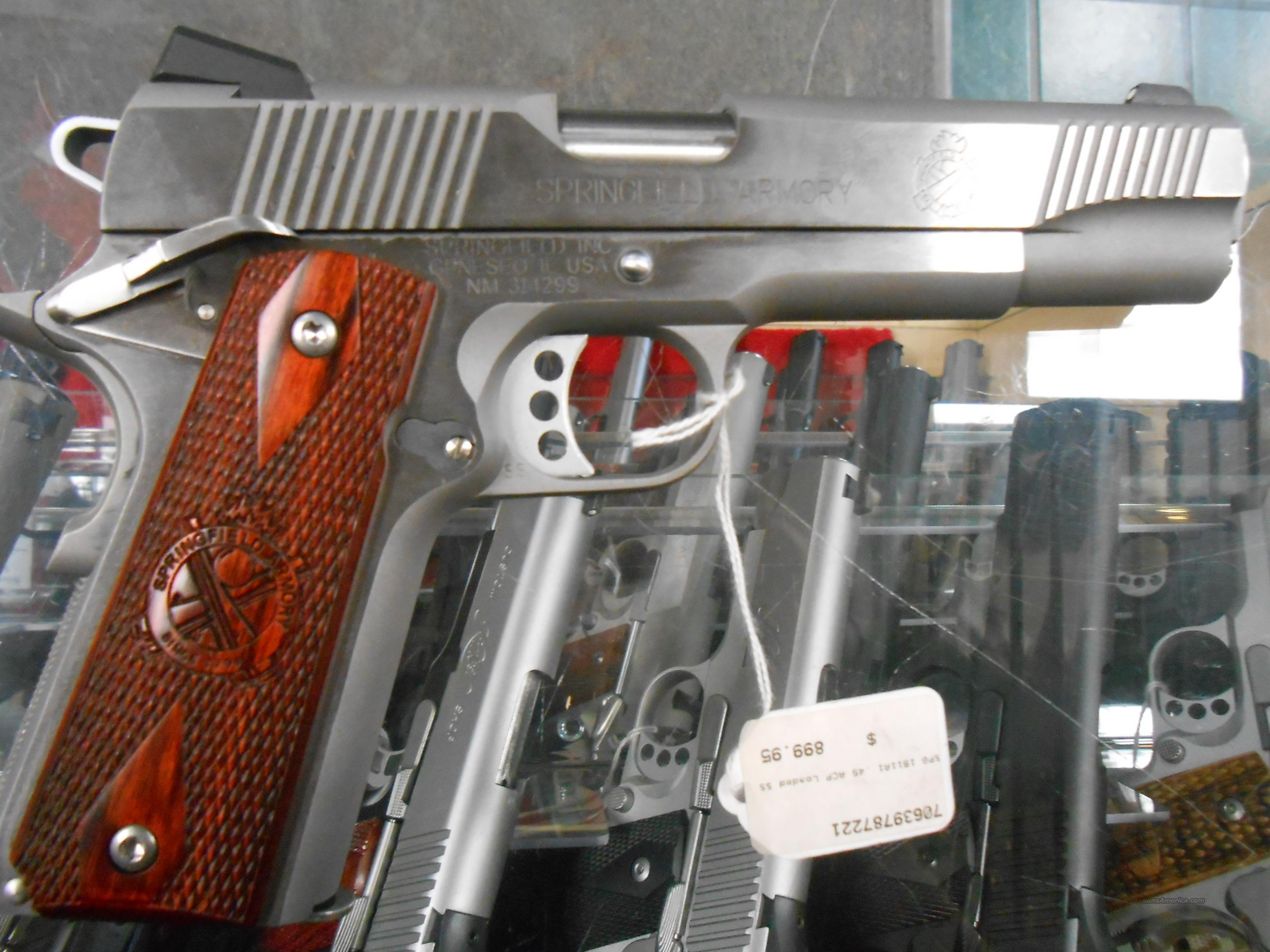 Springfield 1911A1 .45acp Loaded SS NO CC Fees  Guns > Pistols > Springfield Armory Pistols > 1911 Type