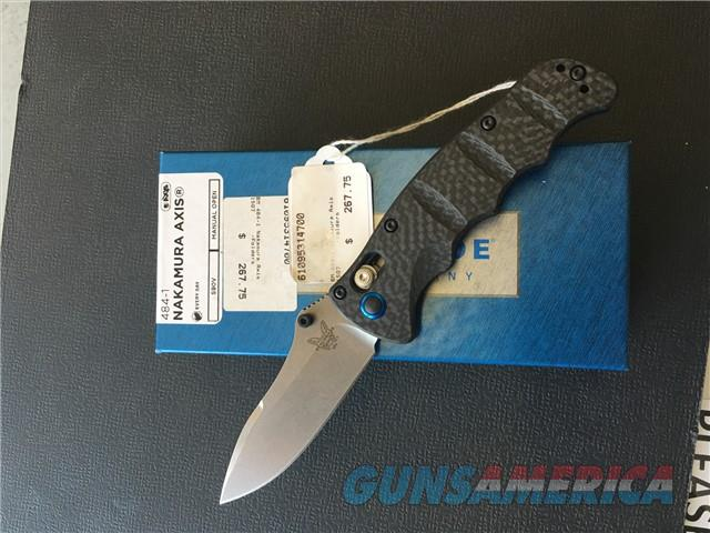 Benchmade 484-1 Nakamura AXIS NIB NO CC FEES  Non-Guns > Knives/Swords > Knives > Folding Blade > Hand Made
