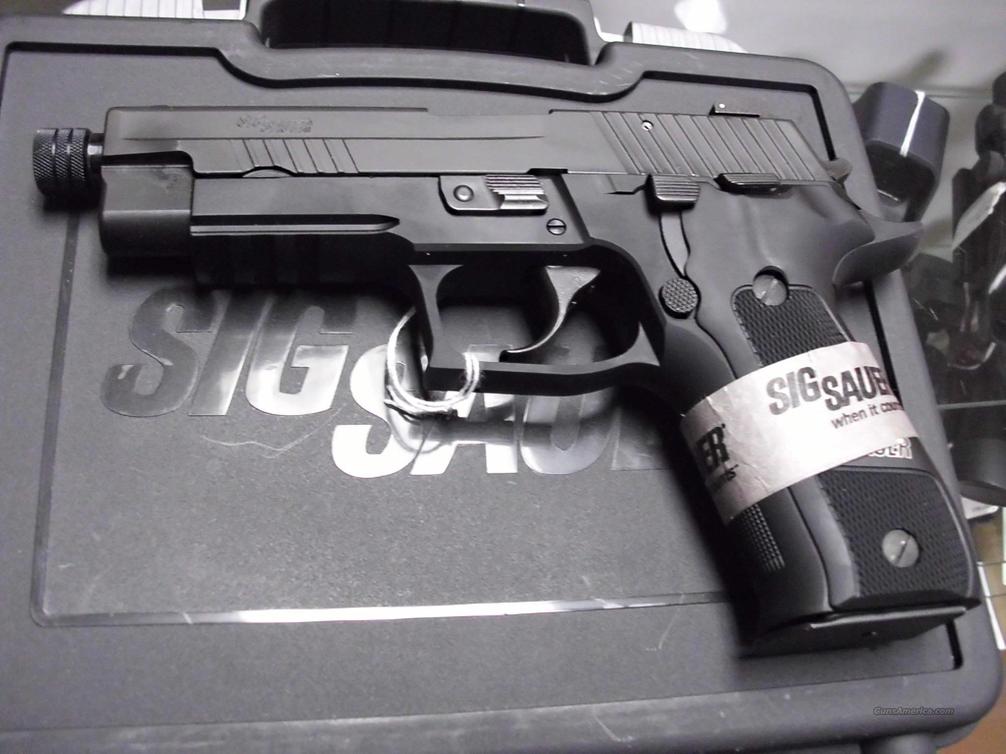 Sig Sauer P226 Elite Dark Threaded Barrel 9mm NEW   Guns > Pistols > Sig - Sauer/Sigarms Pistols > P226