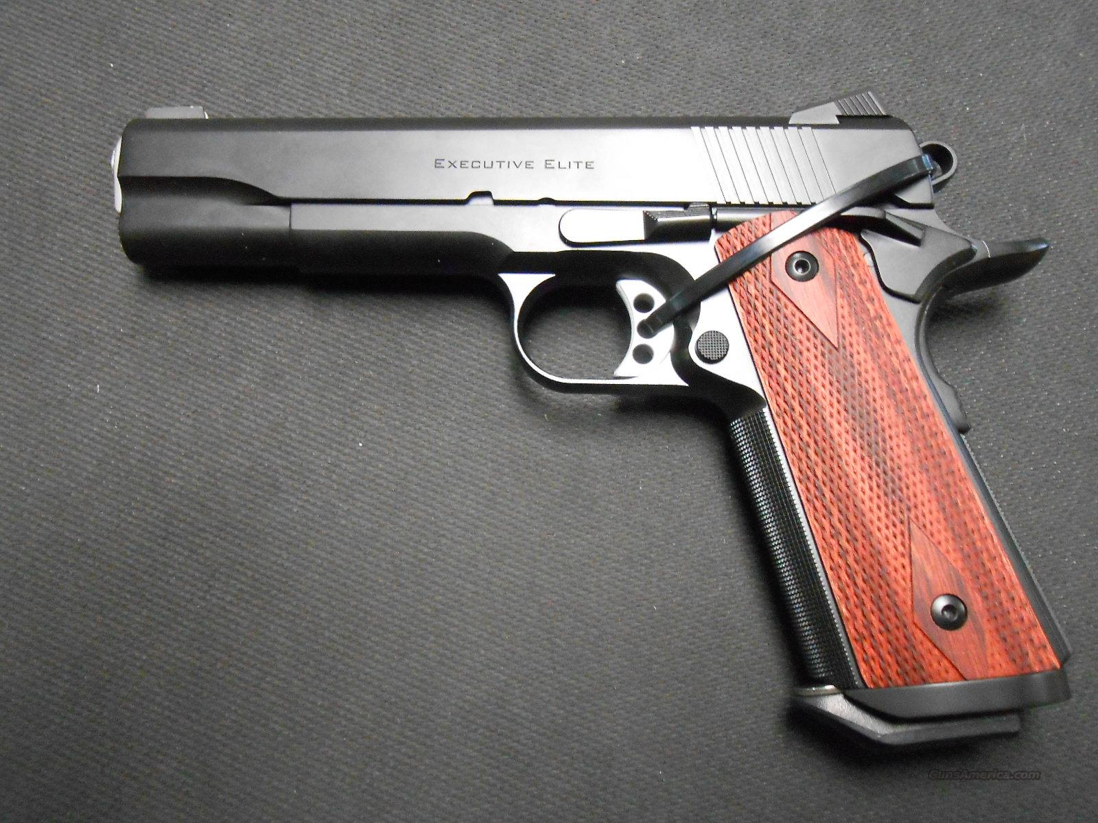 Ed Brown Exec Elite SS/Gen 3 1911 45acp  NIB!  Guns > Pistols > Ed Brown Pistols