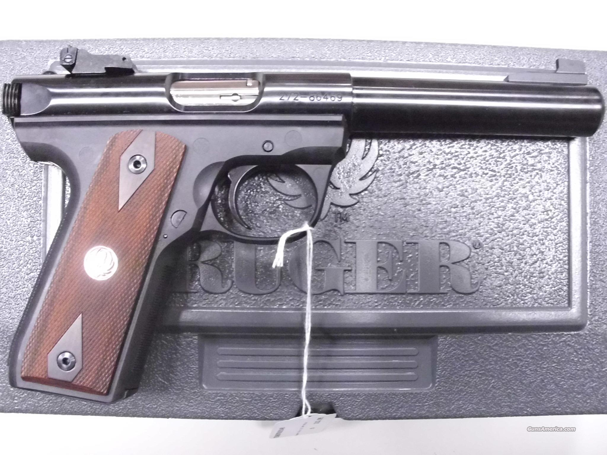 Ruger 22/45 MKIII Target .22LR New  Guns > Pistols > Ruger Semi-Auto Pistols > Mark I & II Family