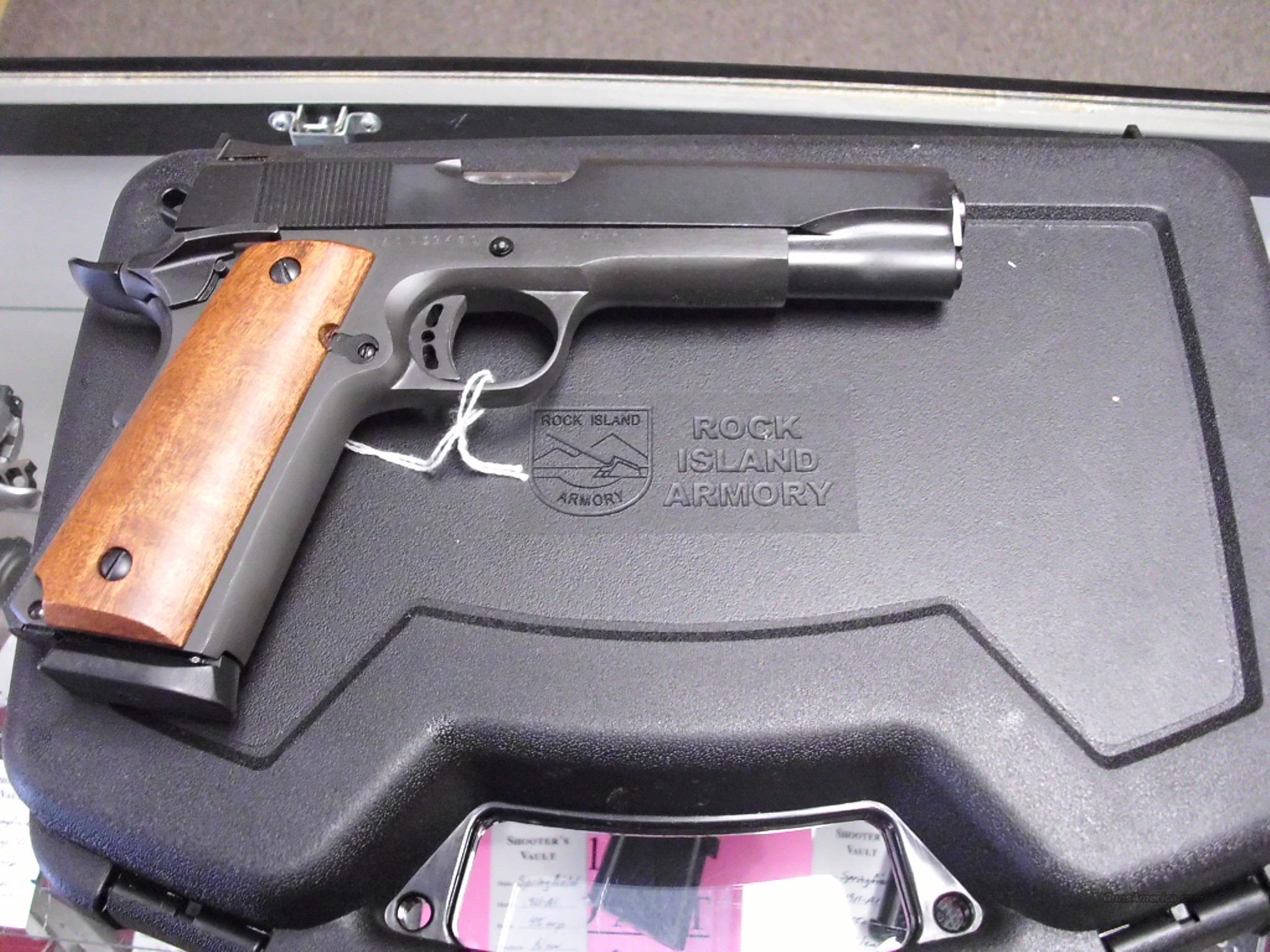 Rock Island Armory 1911A1 45ACP NEW   Guns > Pistols > Rock River Arms Pistols