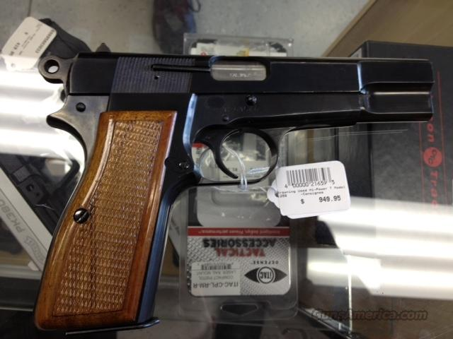 Browning Hi-Power T Model 9mm Used  Guns > Pistols > Browning Pistols > Hi Power