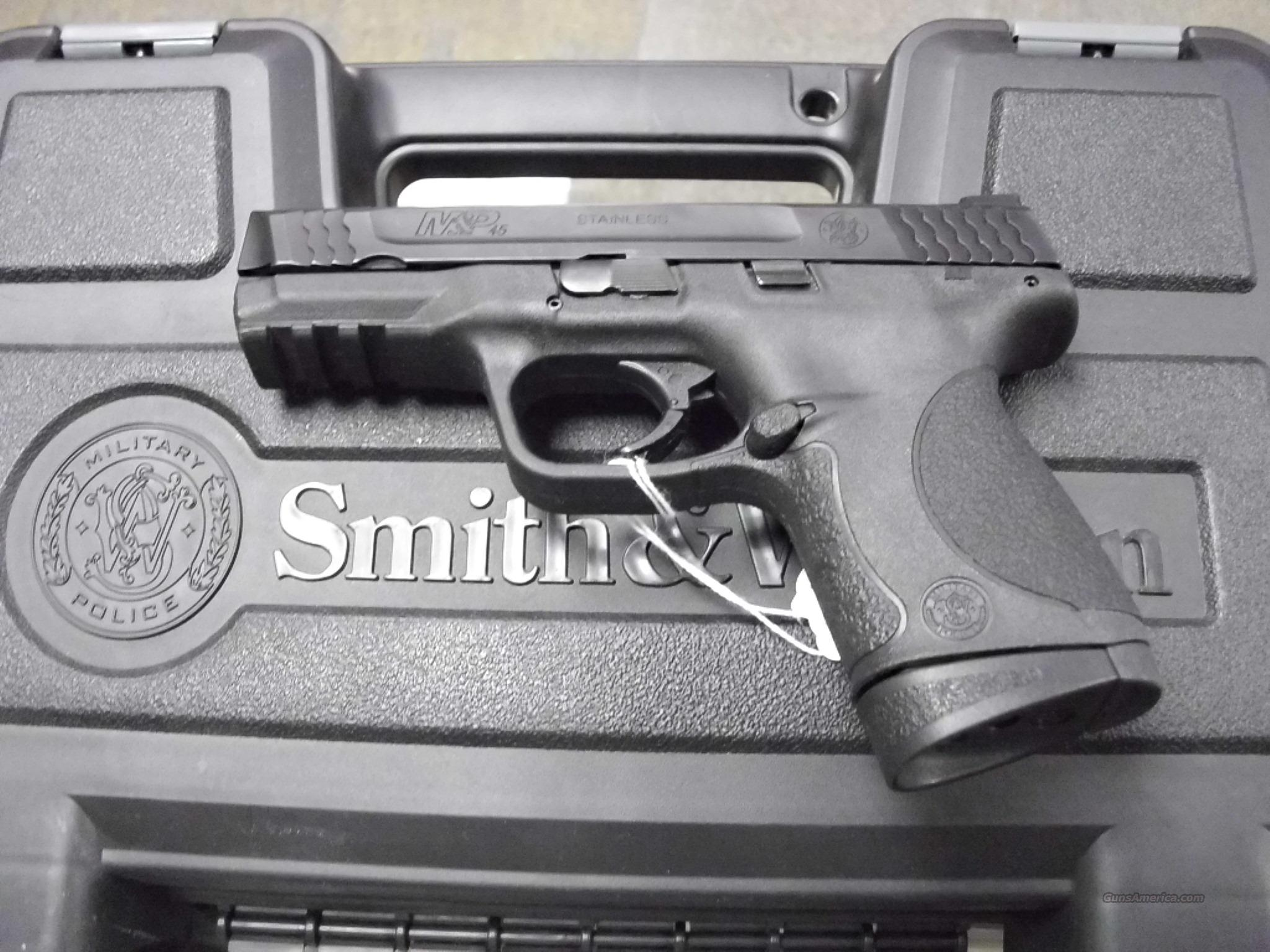 Smith & Wesson M&P45 Comp Used  Guns > Pistols > Smith & Wesson Pistols - Autos > Polymer Frame