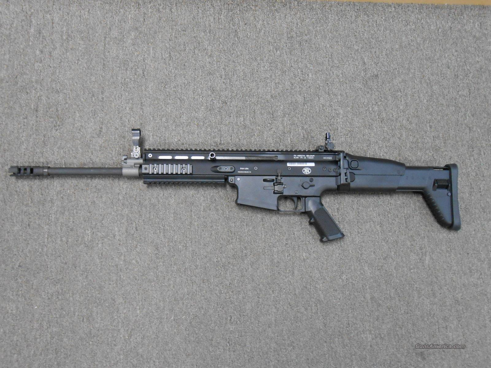 FNH Scar 17S 308 Blk NIB  Guns > Rifles > FNH - Fabrique Nationale (FN) Rifles > Semi-auto > Other