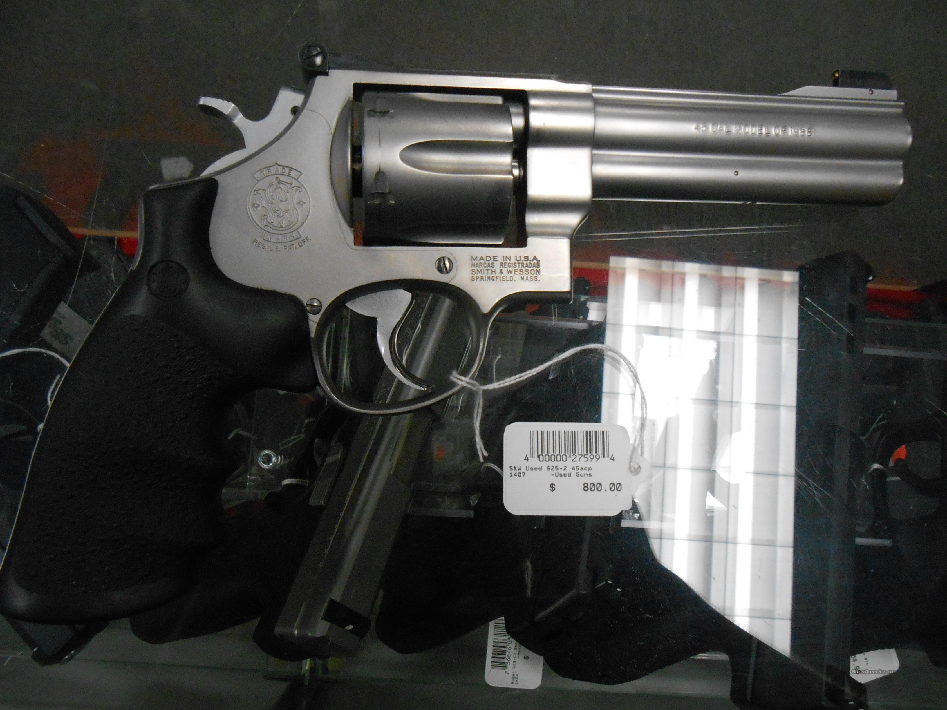 S&W Used 625-2 45ACP NO CC Fees  Guns > Pistols > Smith & Wesson Revolvers > Full Frame Revolver