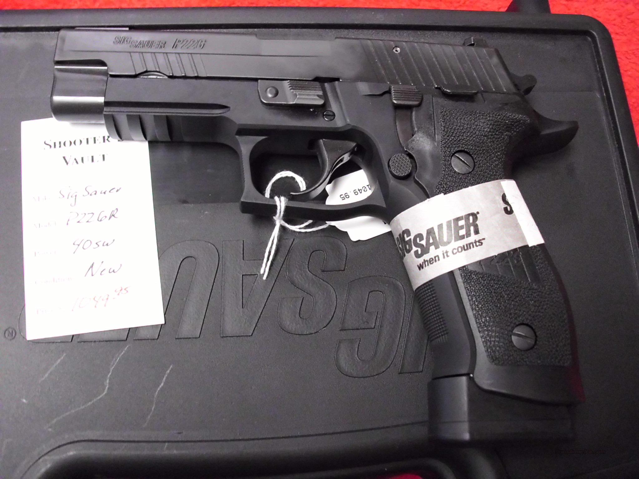 Sig Sauer P226 40S&W Tacops NEW   Guns > Pistols > Sig - Sauer/Sigarms Pistols > P226