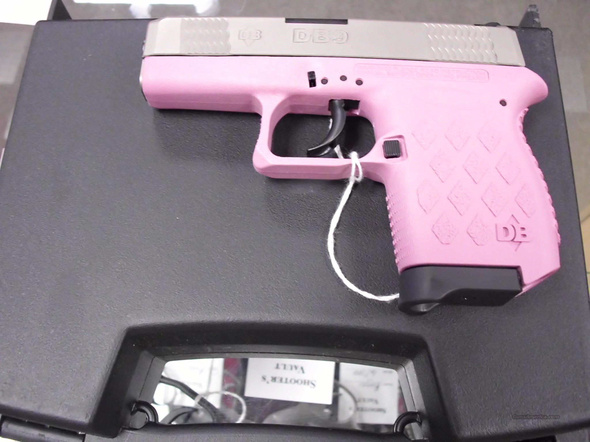 Diamondback DB9 Pink 9MM  Guns > Pistols > D Misc Pistols