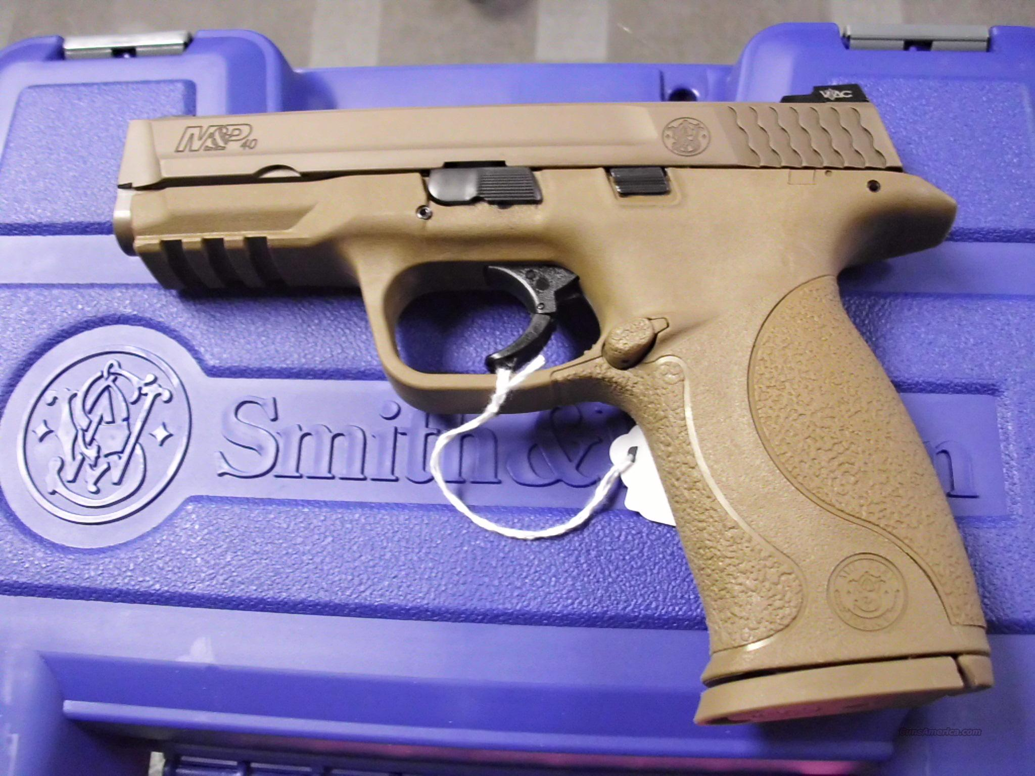 Smith & Wesson M&P V-Tac 40SW NEW  Guns > Pistols > Smith & Wesson Pistols - Autos > Polymer Frame