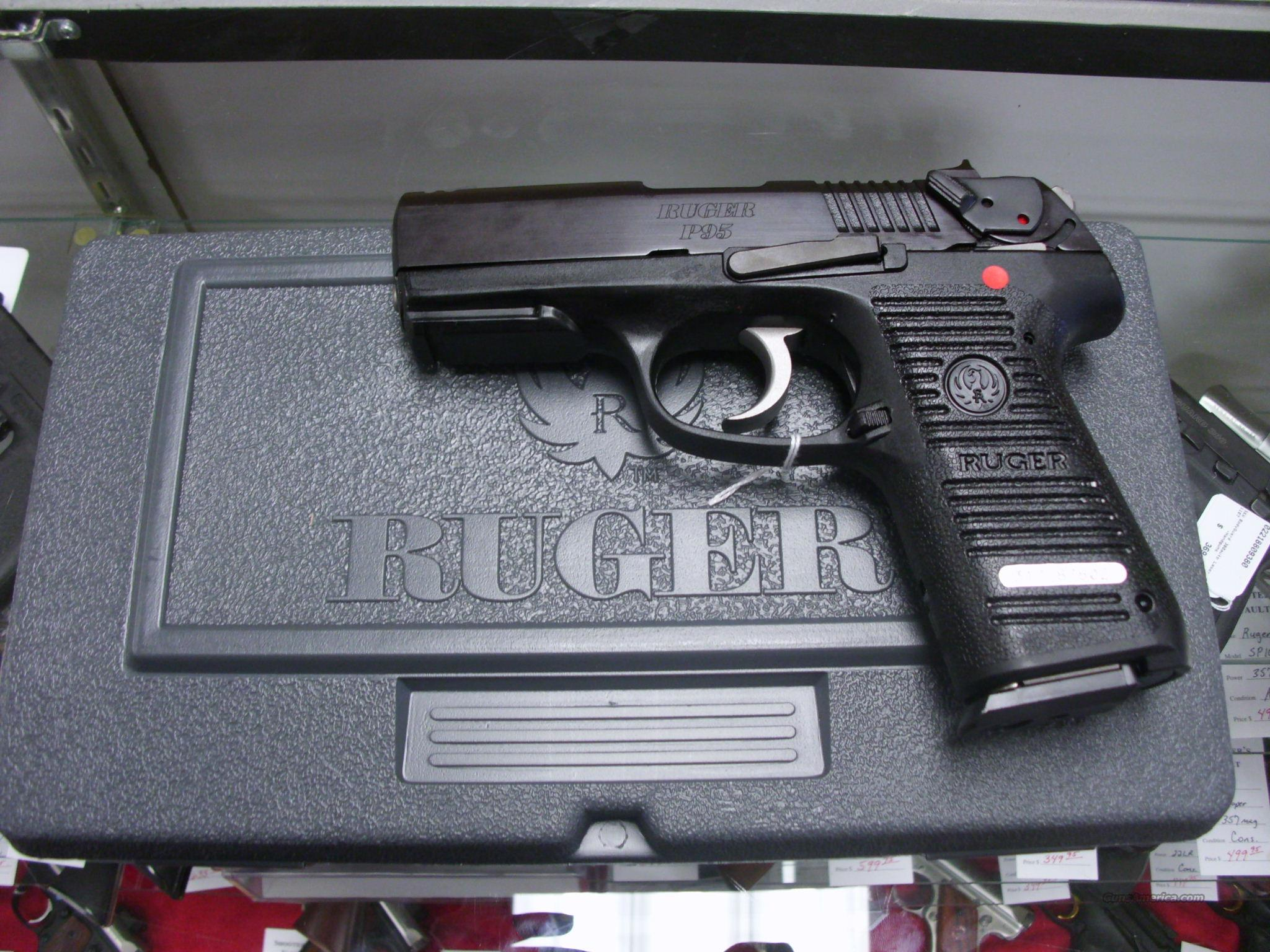 Ruger P95 9mm New   Guns > Pistols > Ruger Semi-Auto Pistols > P-Series