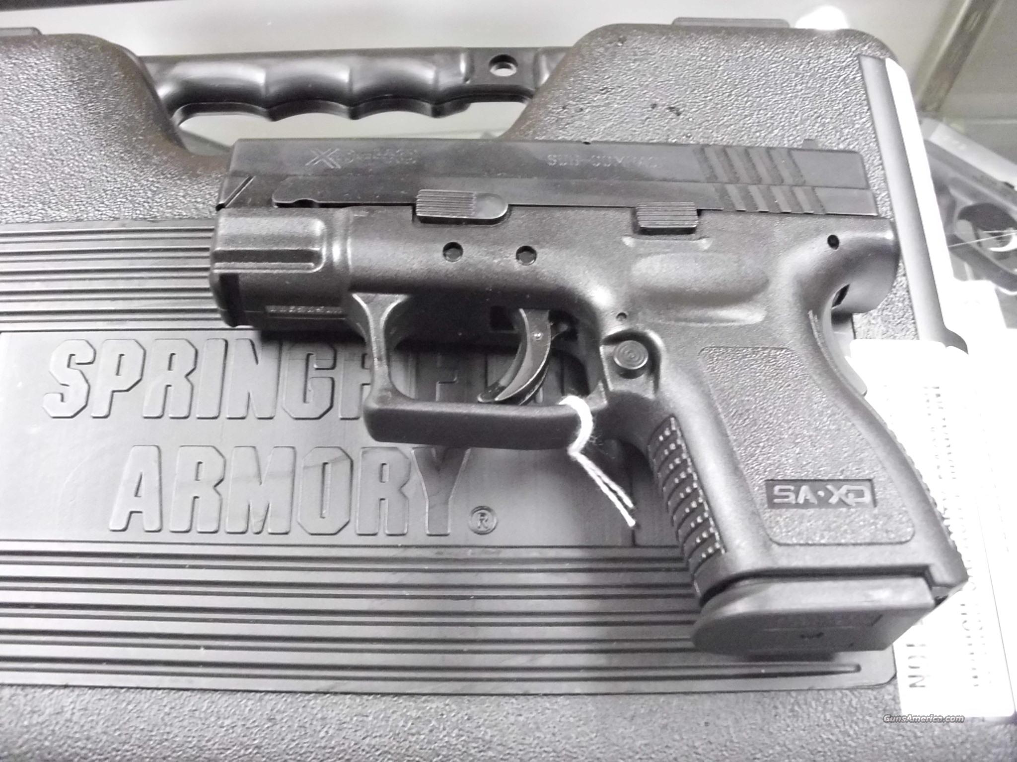Springfield XD-40 Sub Compact 40SW NEW   Guns > Pistols > Springfield Armory Pistols > XD (eXtreme Duty)