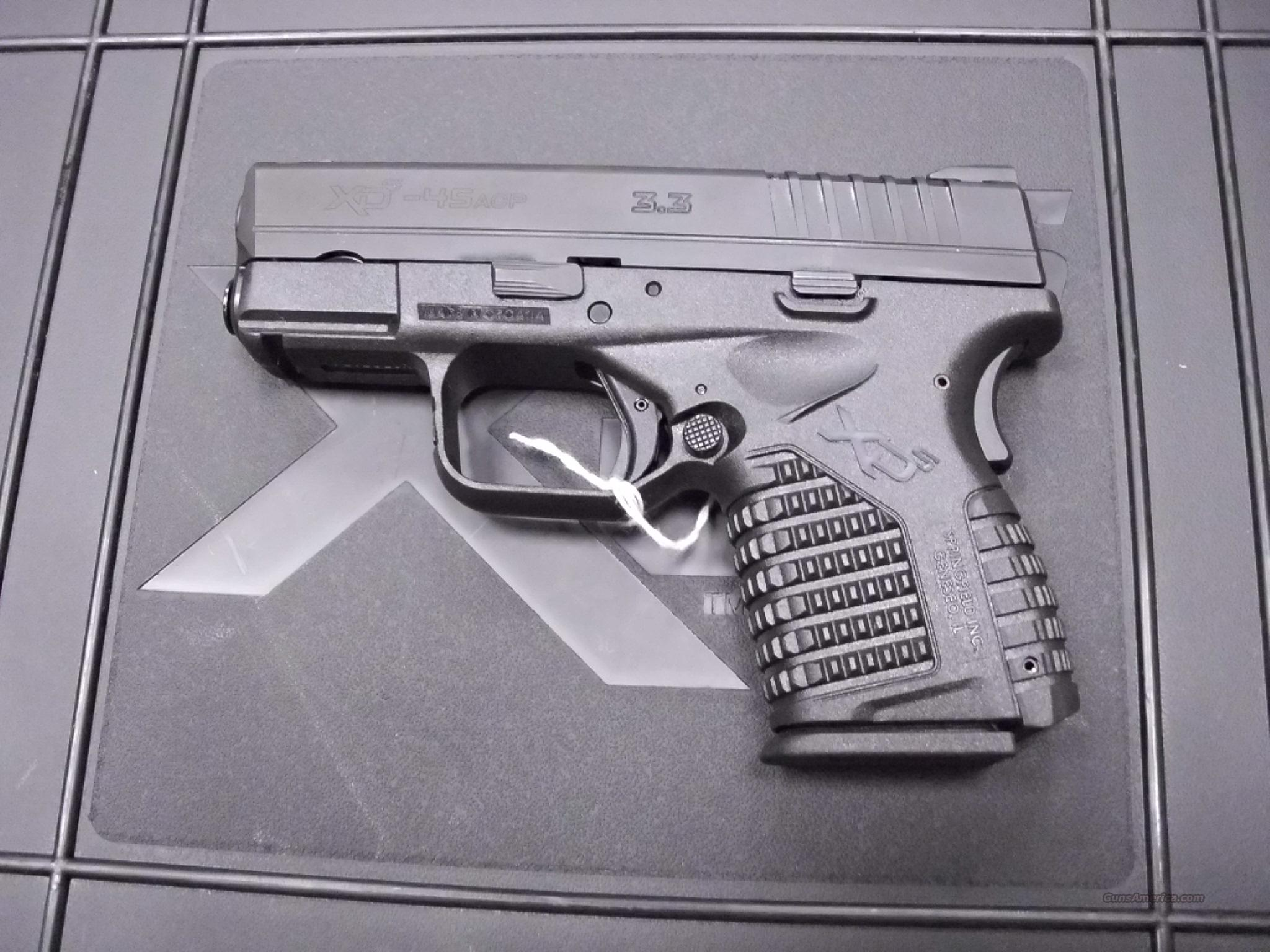 Springfield XDS 45 45ACP NEW  Guns > Pistols > Springfield Armory Pistols > XDs