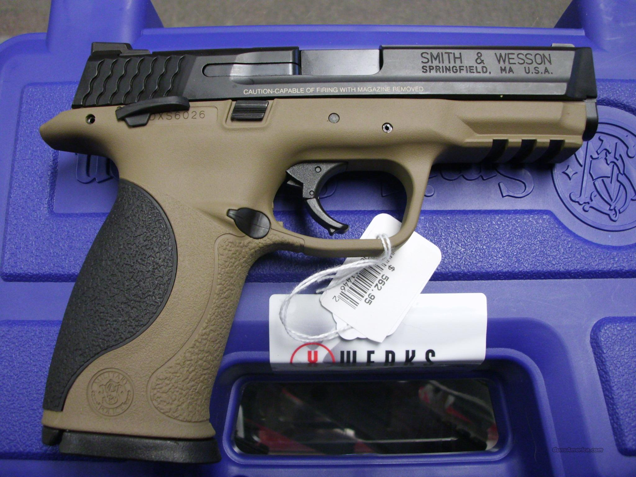 Smith & Wesson M&P 40 X-Werks Magpul FDE New  Guns > Pistols > Smith & Wesson Pistols - Autos > Polymer Frame