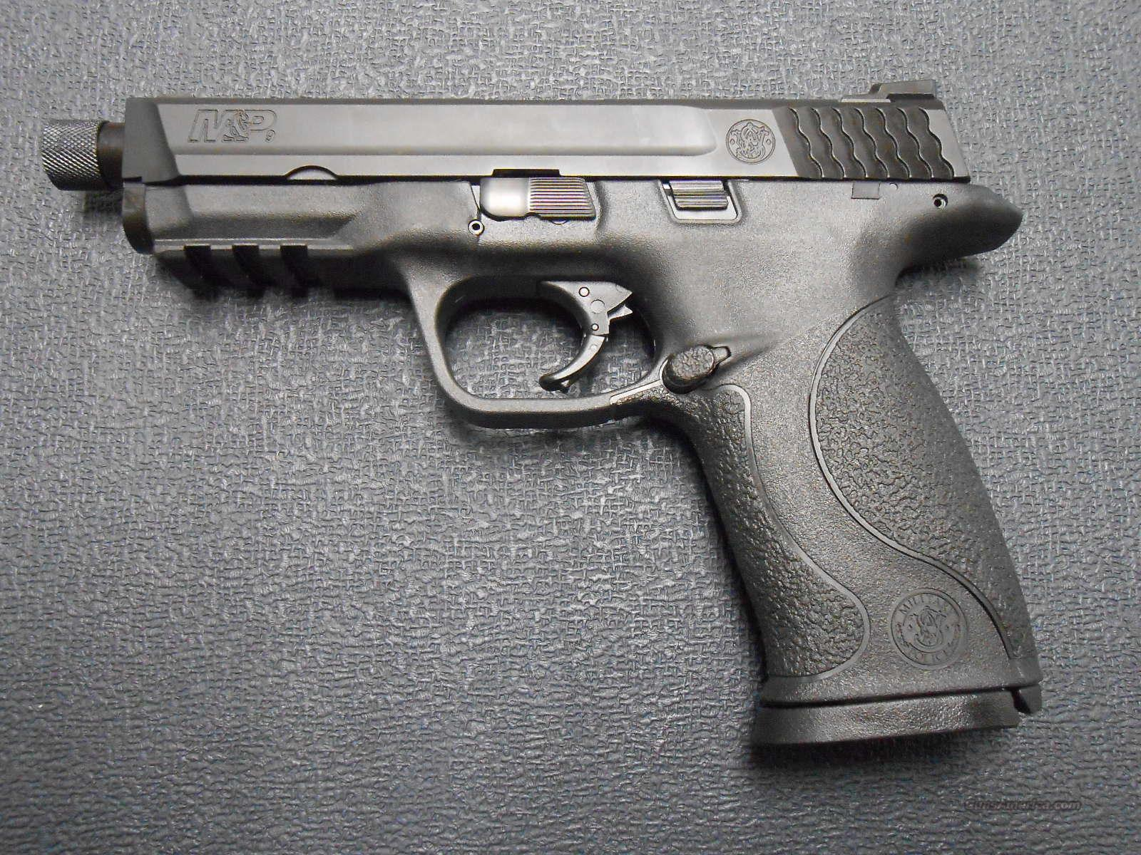 "S&W M&P 9 4.25"" Threaded Barrel 150922  Guns > Pistols > Smith & Wesson Pistols - Autos > Polymer Frame"