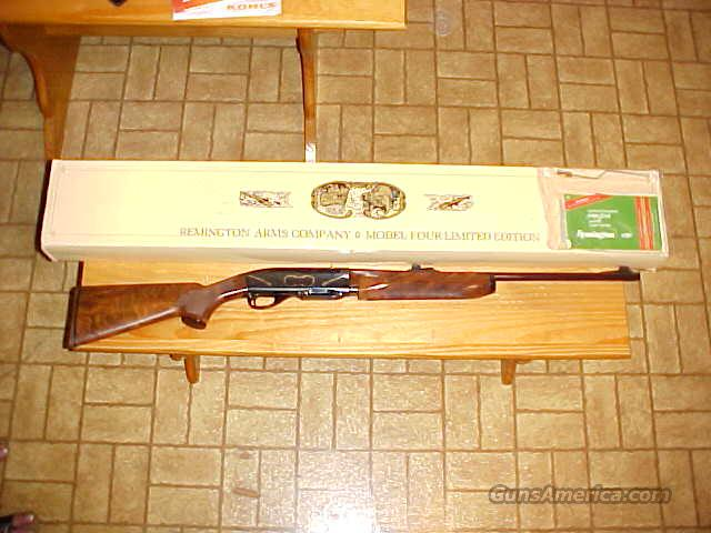 Remington Model Four Limited Edt.  Guns > Rifles > Remington Rifles - Modern > Other