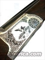 "Thomas Ferney Model 0730R, 12Ga, 3"" Chamber, Light Weight Over and Under, 6.3LBS ERGAL Receiver, Hand Engraved, w/ Gd 3 Turkish Walnut W/ Ejectors and Manual Safety 28"" or 30"" Barrel Available   Guns > Shotguns > Double Shotguns (Misc.)  > American"