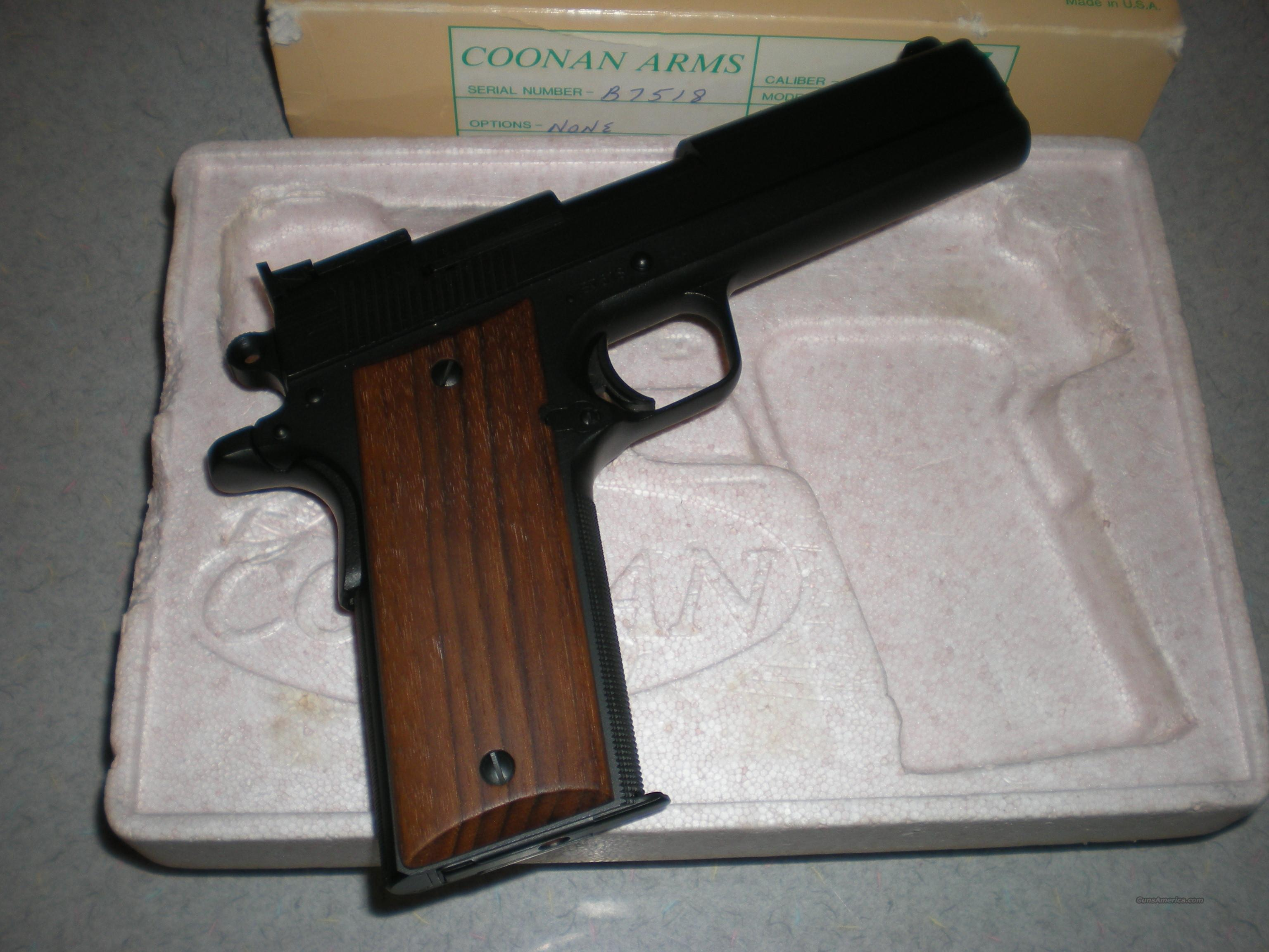 Coonan Arms Model B with Black-T finish  Guns > Pistols > Coonan Arms Pistols