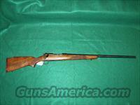 tikka heavy barrel varmit rifle