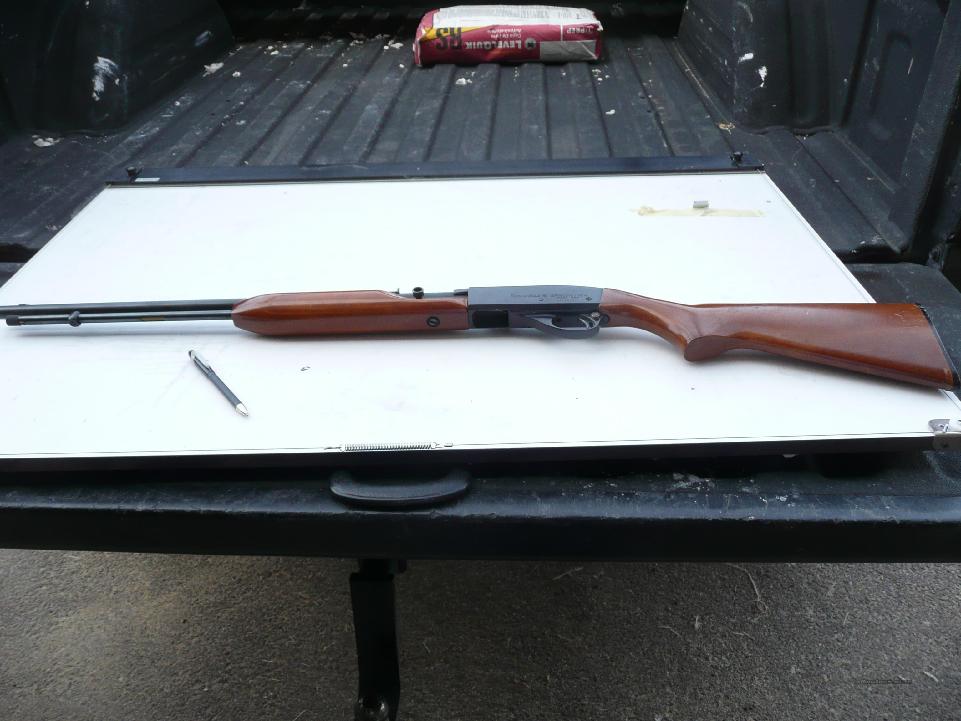 Renington Model 552 .22 cal semi automatic  Guns > Rifles > Remington Rifles - Modern > .22 Rimfire Models