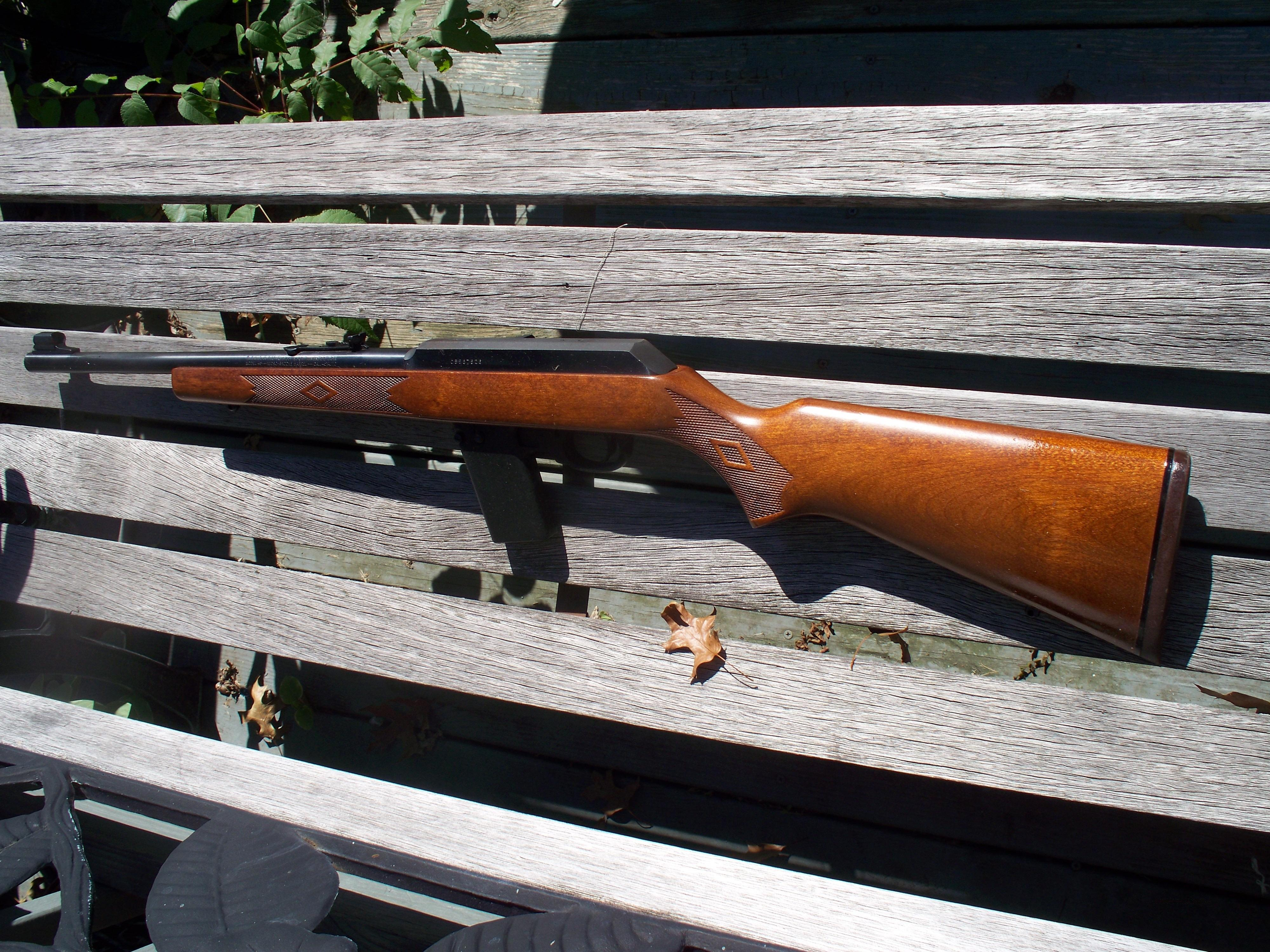 Marlin Camp 45  Guns > Rifles > Marlin Rifles > Modern > Semi-auto